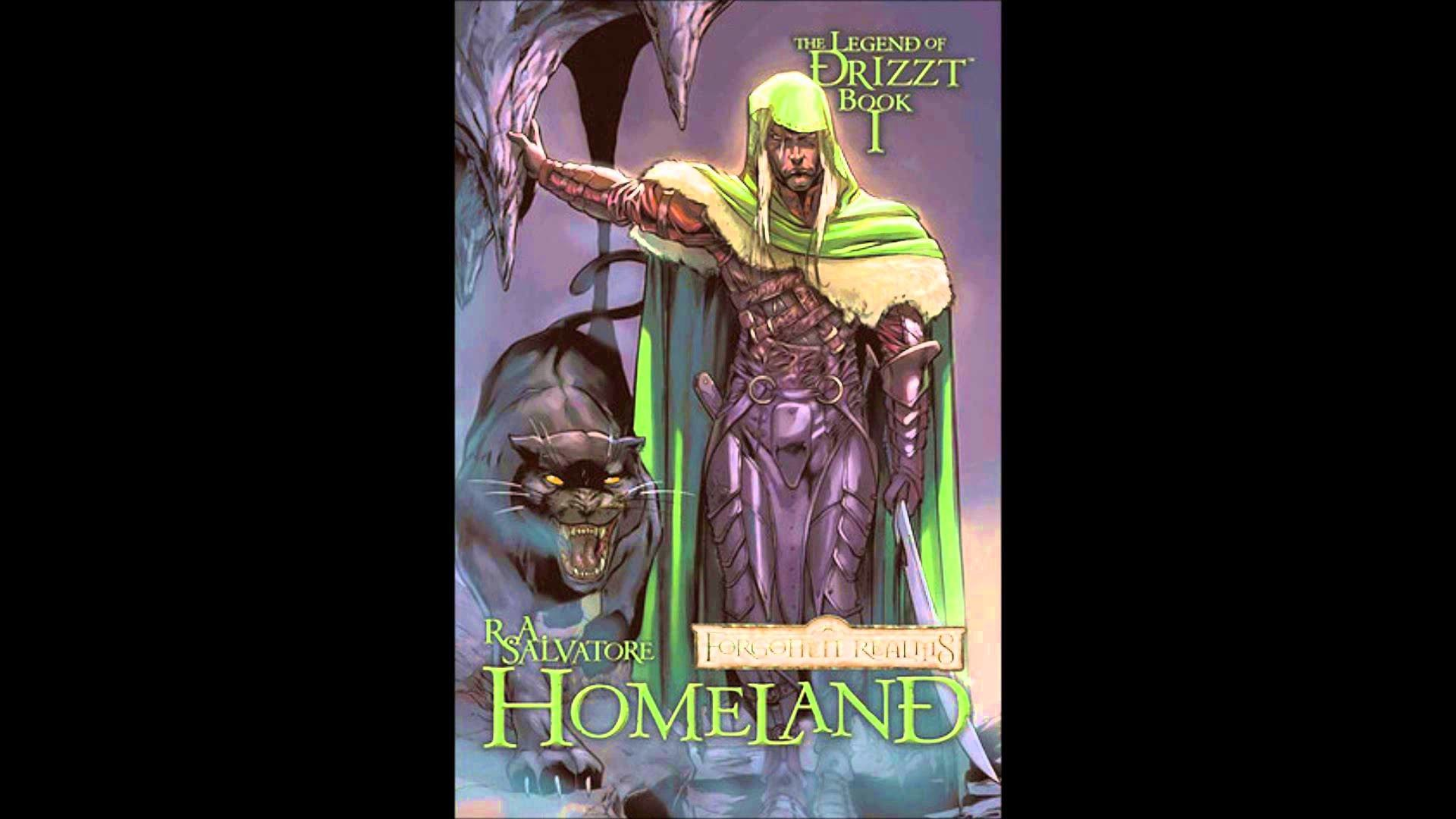 1920x1080 The Legend of Drizzt: Homeland Graphic Novel Review