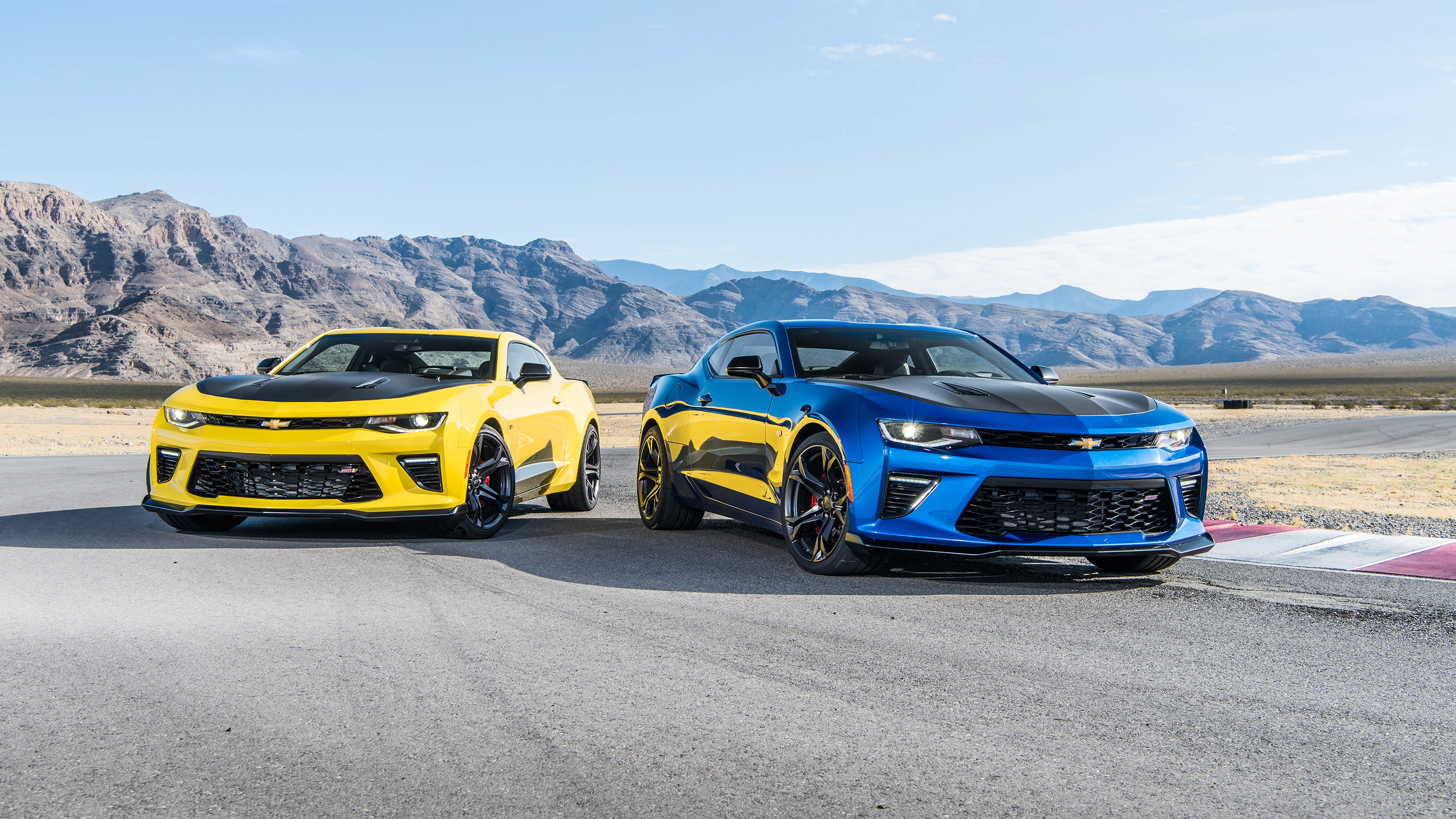 3000x1688 2017 Chevrolet Camaro SS Wallpaper