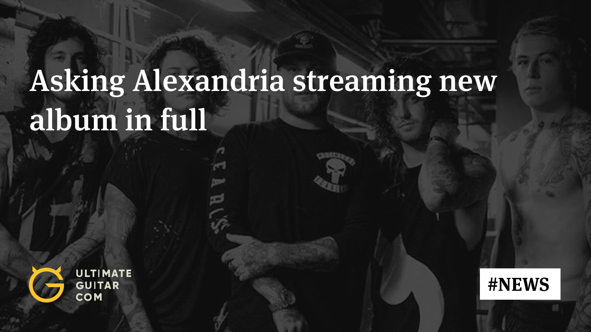1920x1080 Listen: Asking Alexandria Streaming First Album Since Danny Worsnop's  Return in Full | Music News @ Ultimate-Guitar.Com