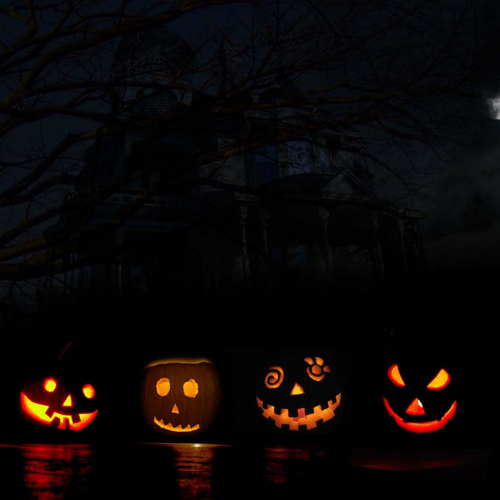 Halloween Haunted House Wallpaper (62+ Images