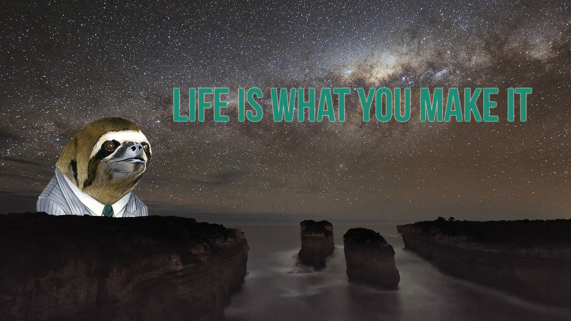 1920x1080 LIFE IS WHAT YOU MAKE IT Australia sky atmosphere phenomenon