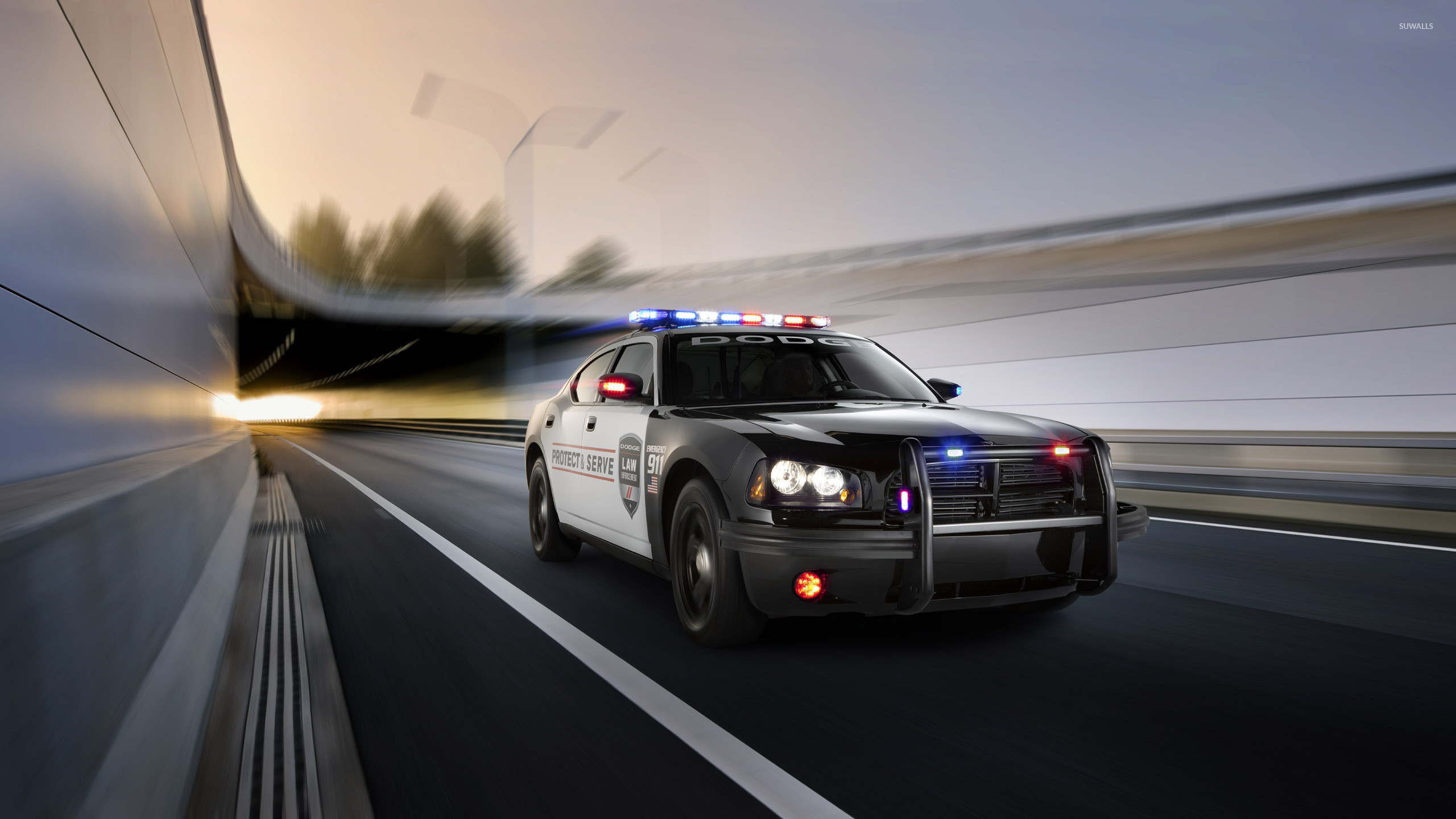 2560x1440 Police Car Wallpaper Hd Resolution