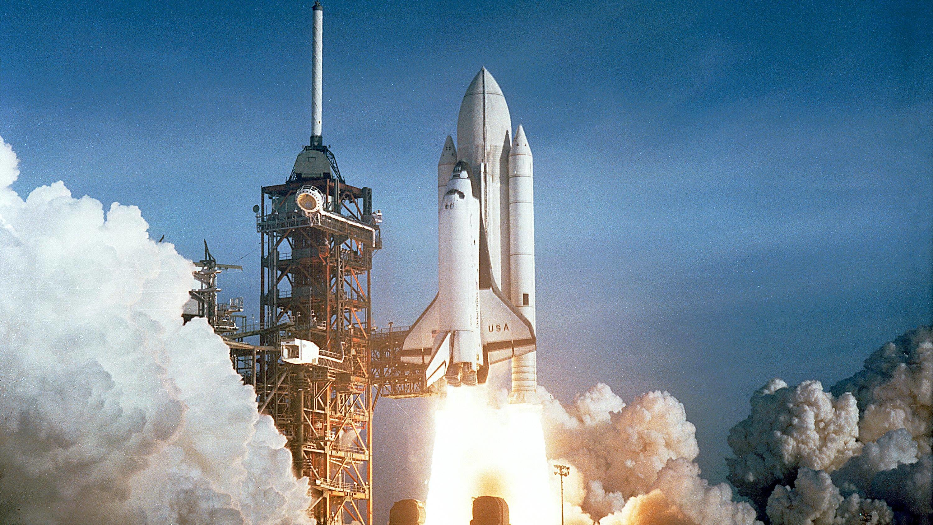 3000x1688 Space Shuttle Launch Hd Wallpaper