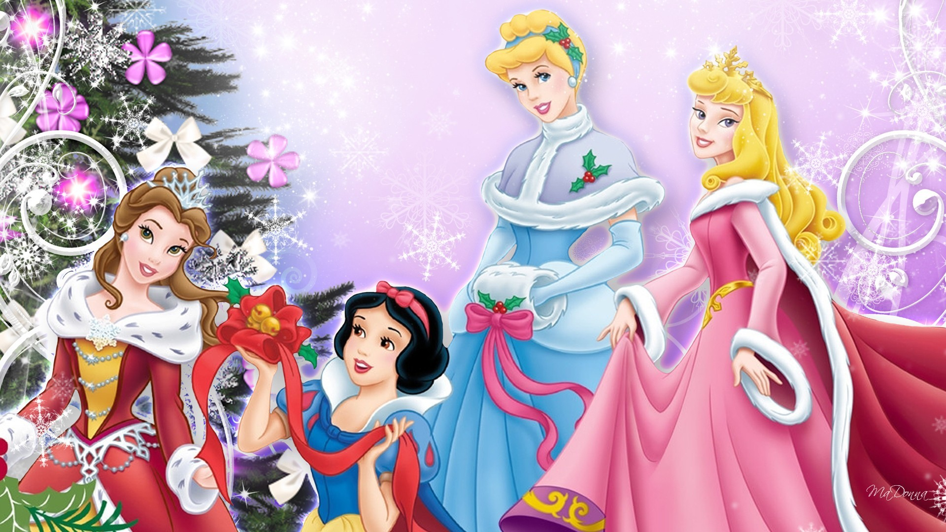 1920x1080 hd-wallpapers-download-cinderella-christmas-wallpaper-42144--
