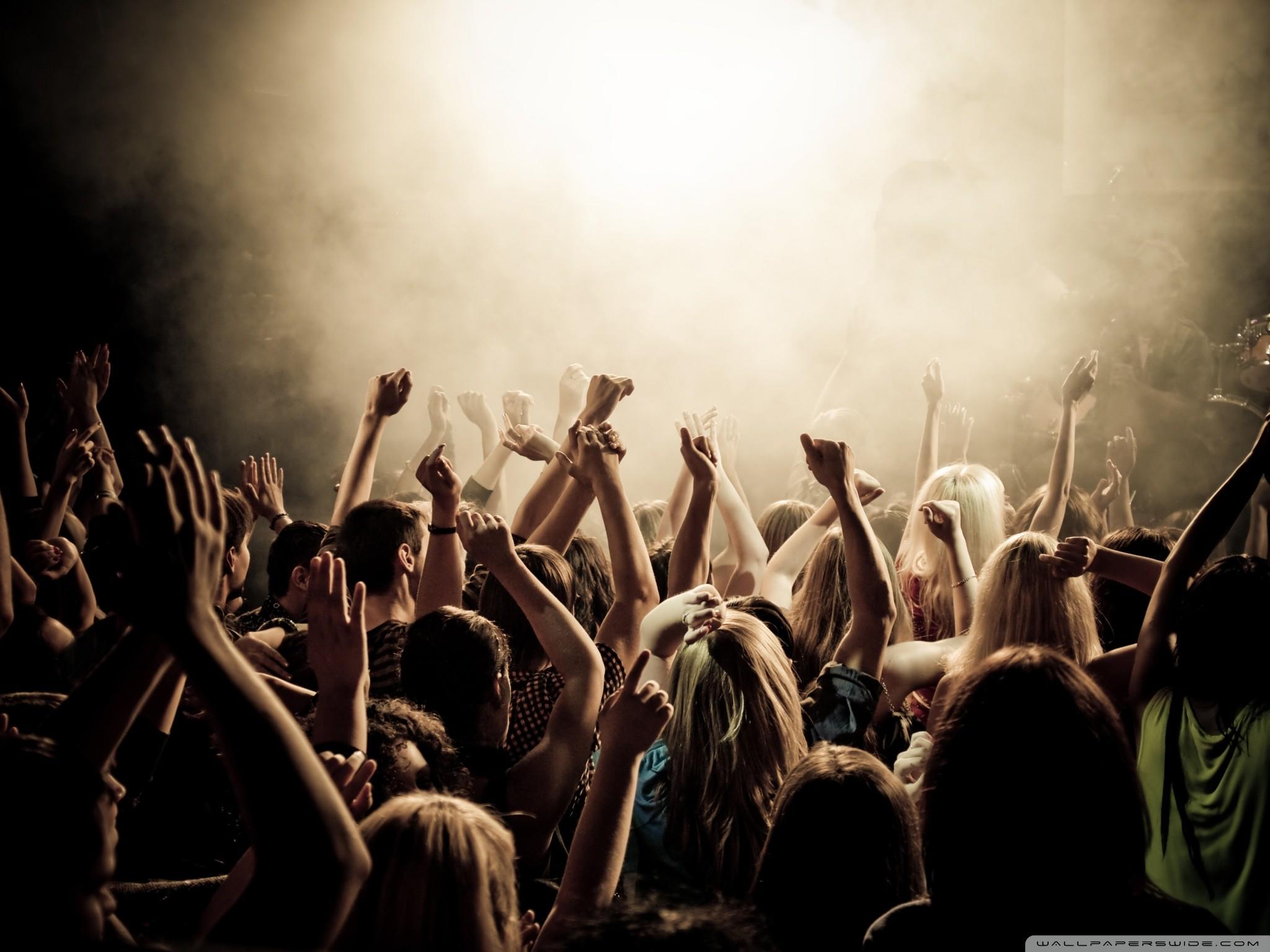 Concert Crowd Wallpaper 65 Images