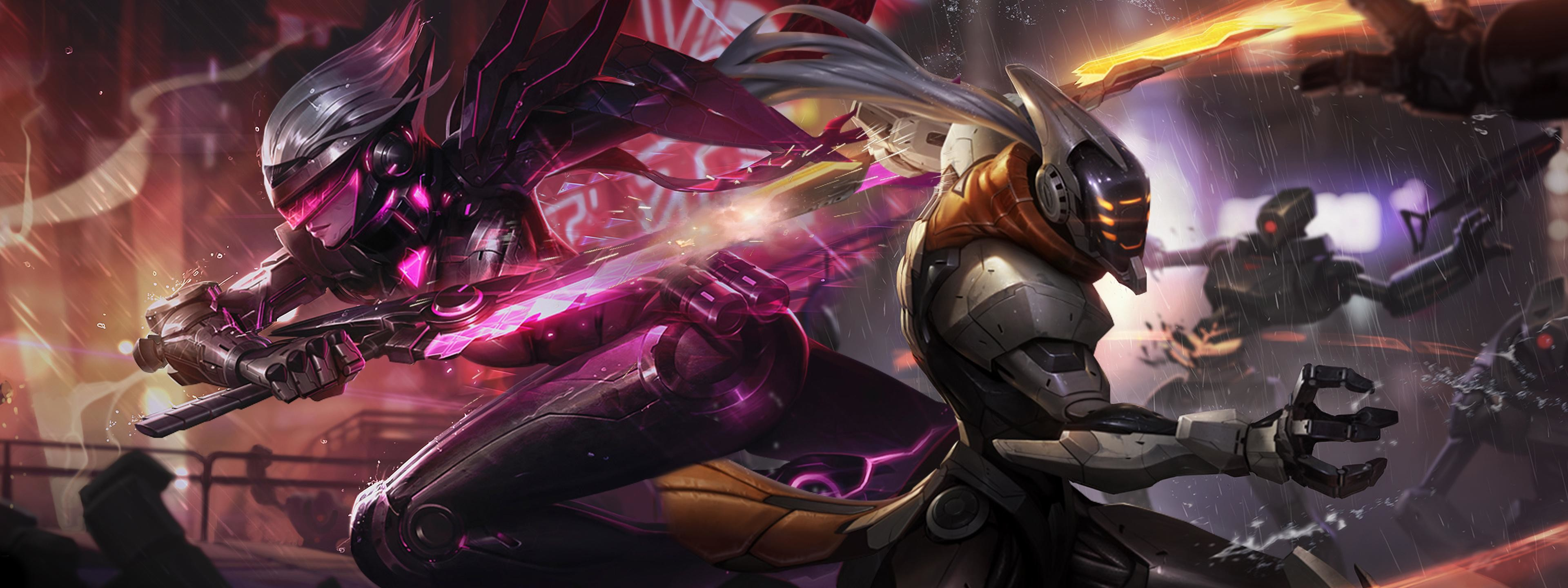 3840x1440 Video Game - League Of Legends Video Game Fiora (League Of Legends) Master  Yi