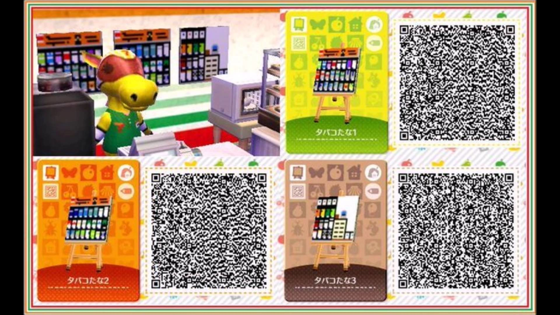 Animal Crossing Happy Home Designer Items For New Leaf