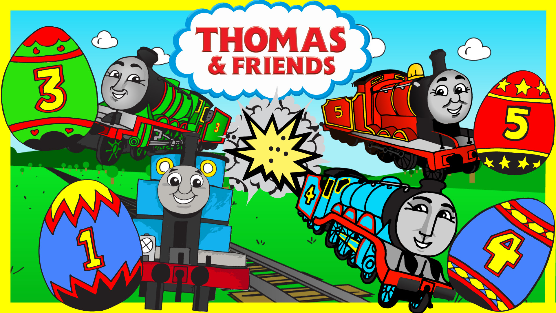 1920x1080 ... Jump to Thomas and Friends Surprise Eggs ...