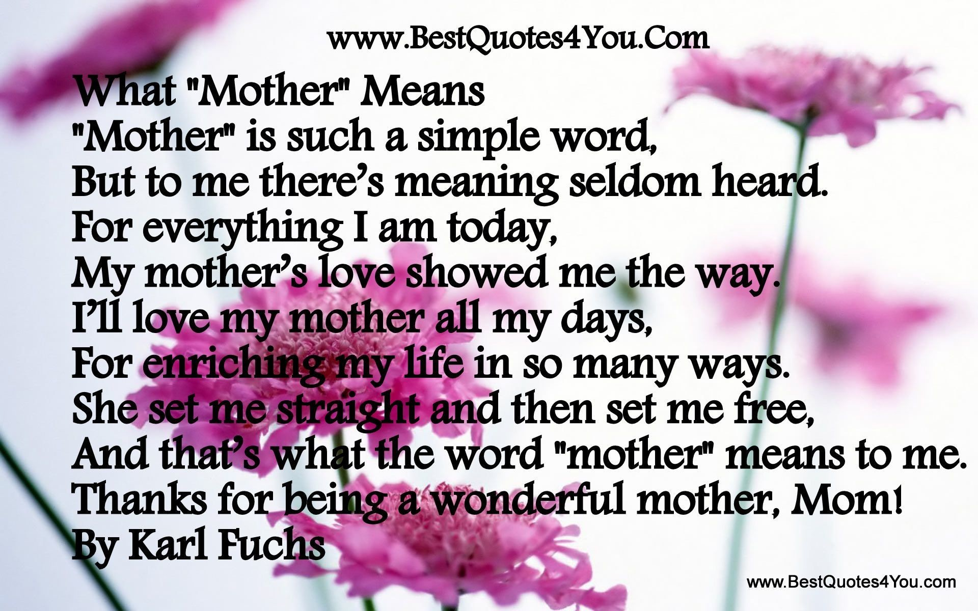 mothers love for her son essay Check out our top free essays on a mothers love for her son to help you write your own essay.
