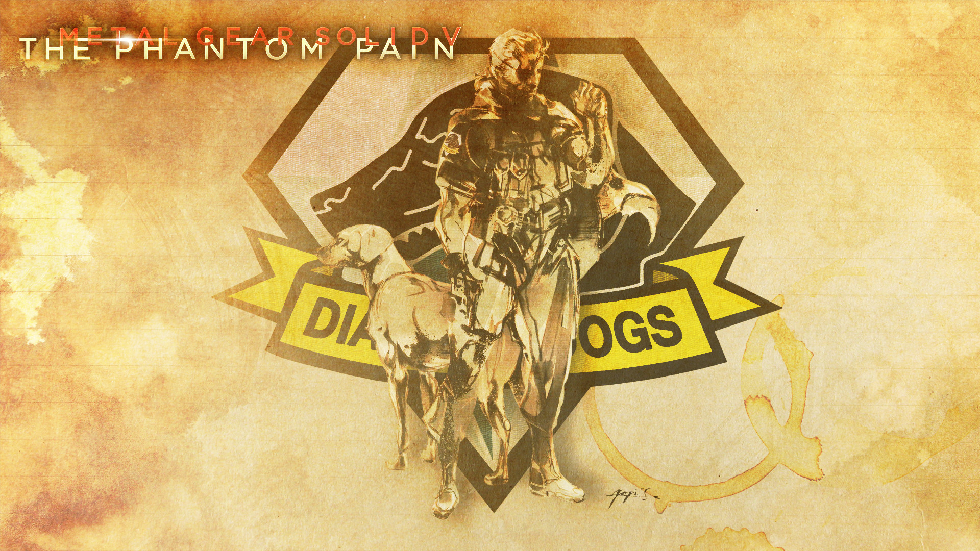 1920x1080 I made a Phantom Pain wallpaper for anyone who want's it.