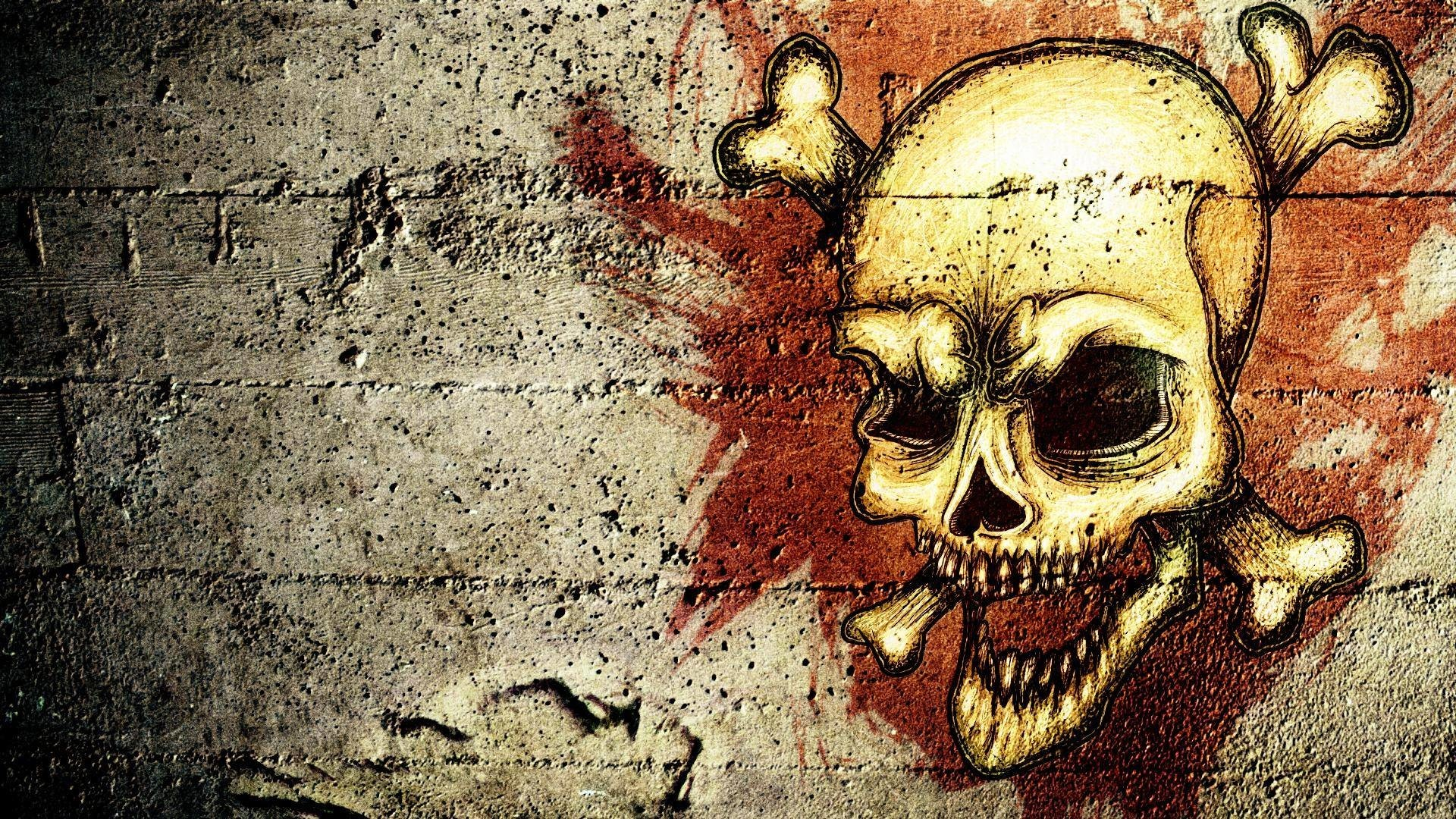 1920x1080  Images For > Skull Wallpaper Hd Download