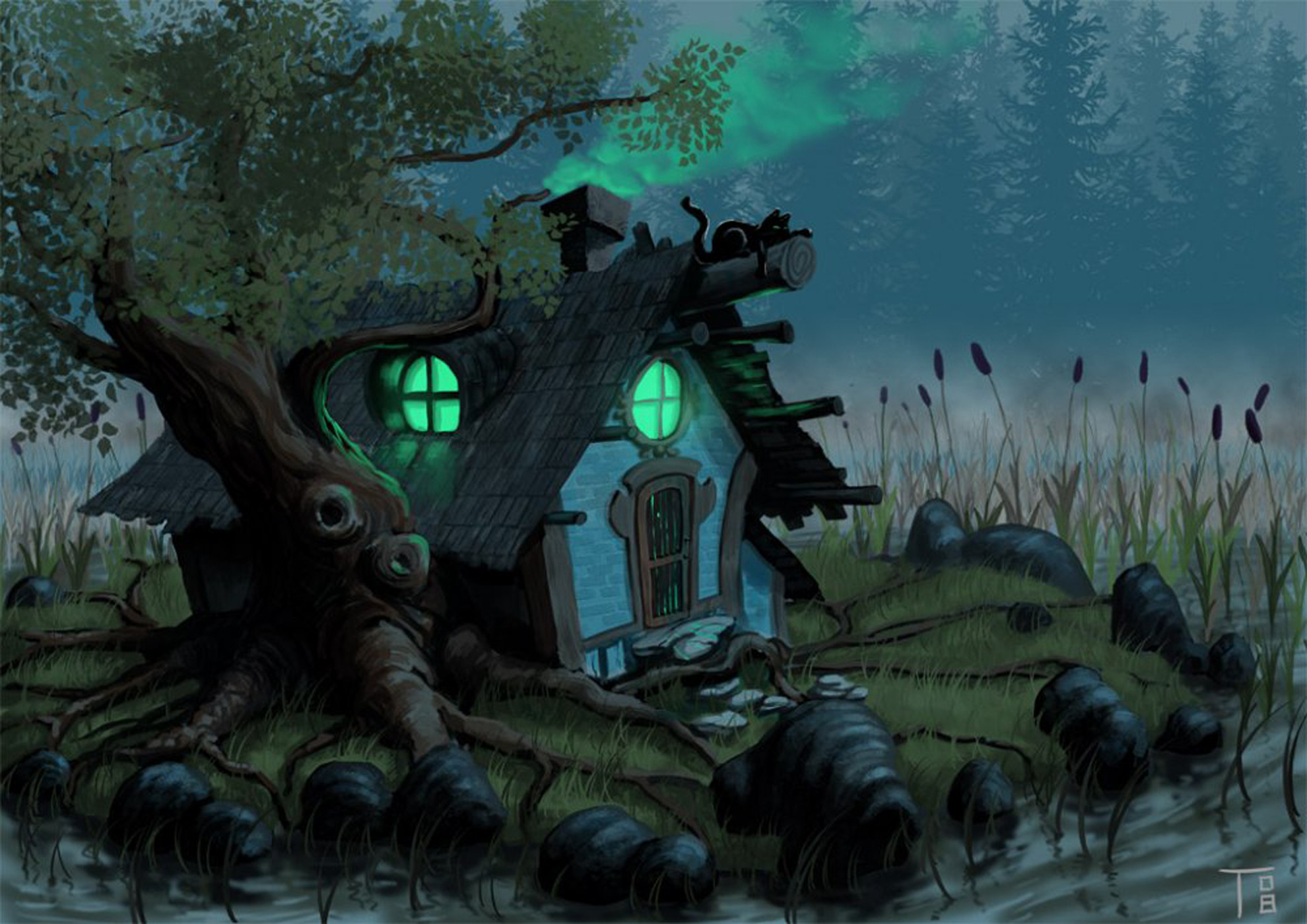 Halloween animated desktop wallpaper 60 images - Moving spider desktop ...