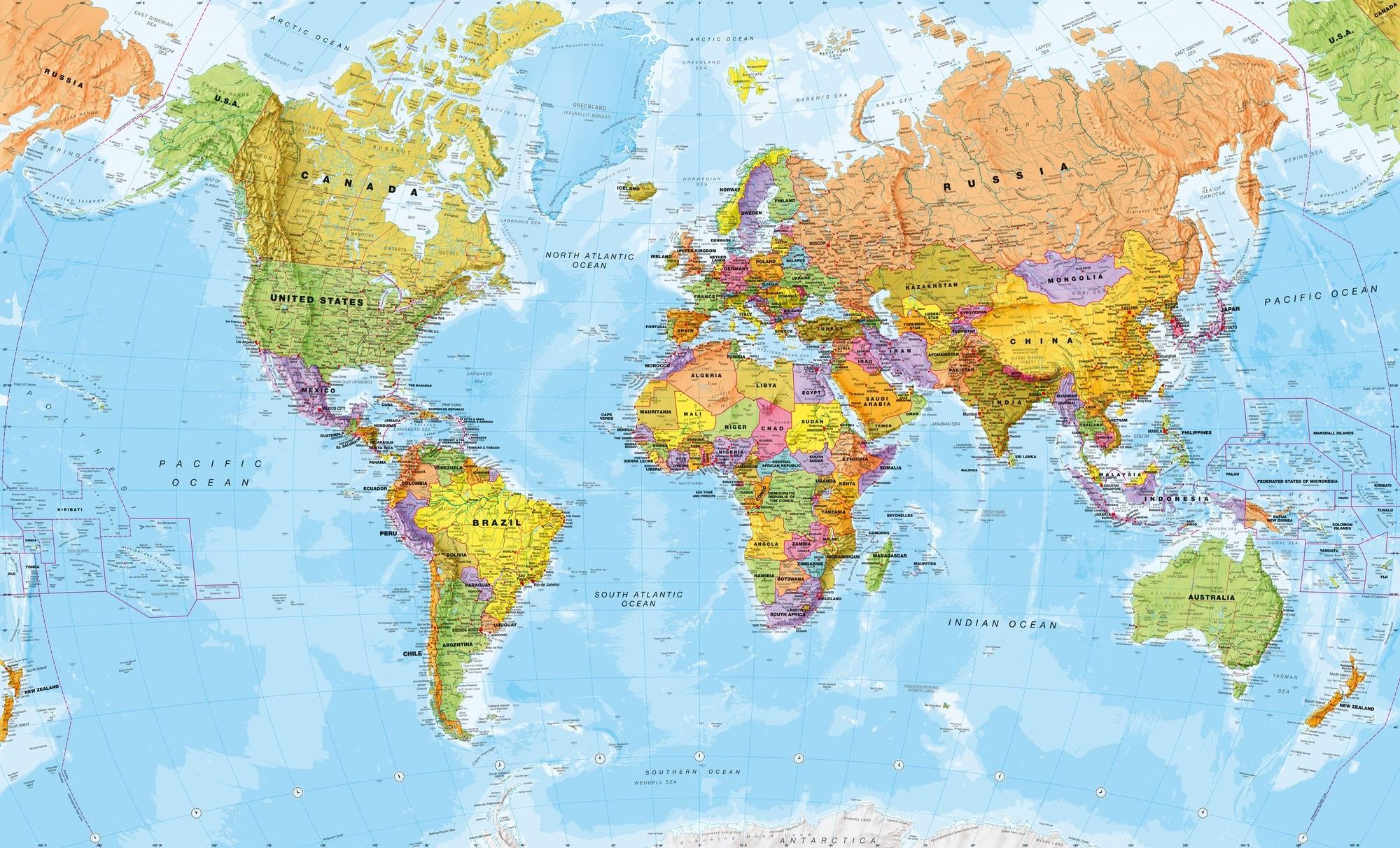 World Map Screensaver Wallpaper (56+ Images
