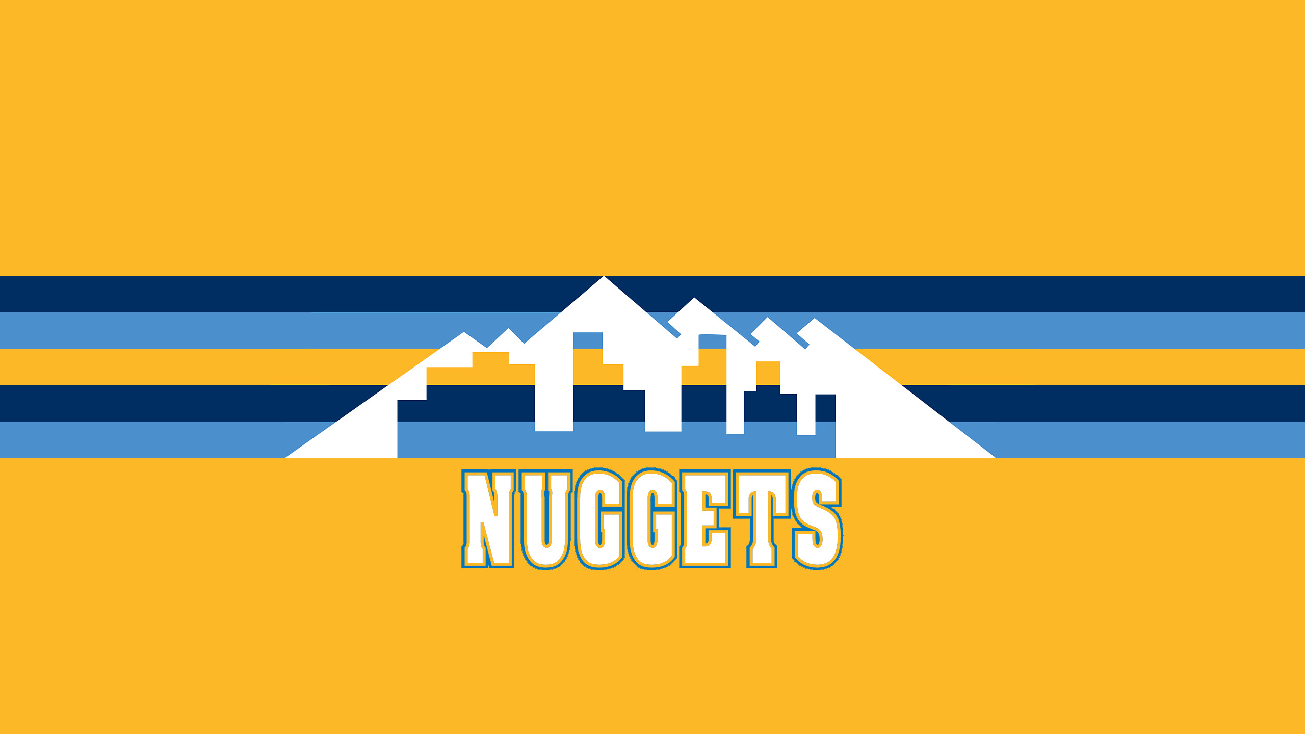 2560x1440 Denver Nuggets (Alt Uniform)