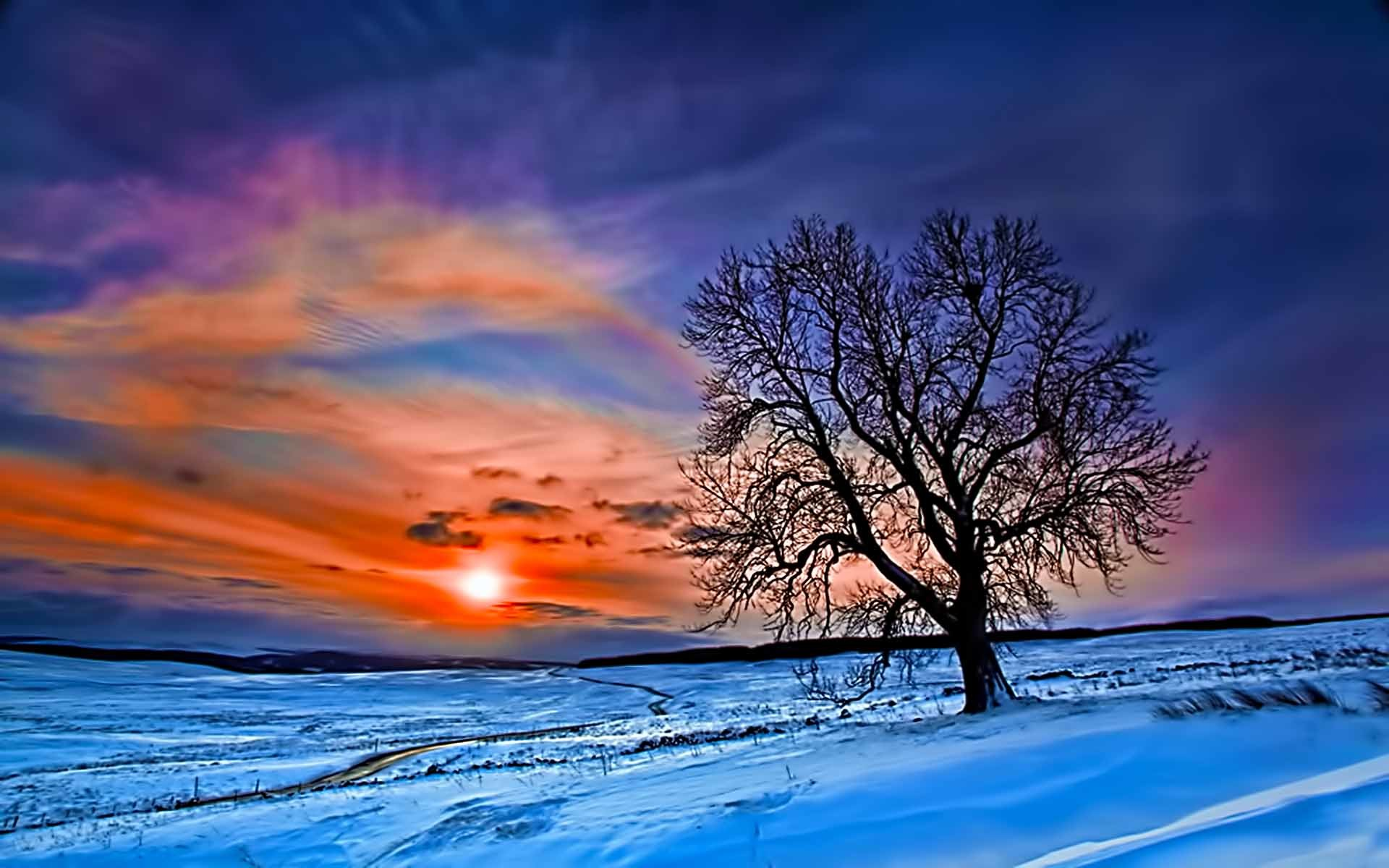 1920x1200 Winter Sunset images HD Wallpapers | Live HD Wallpaper HQ .