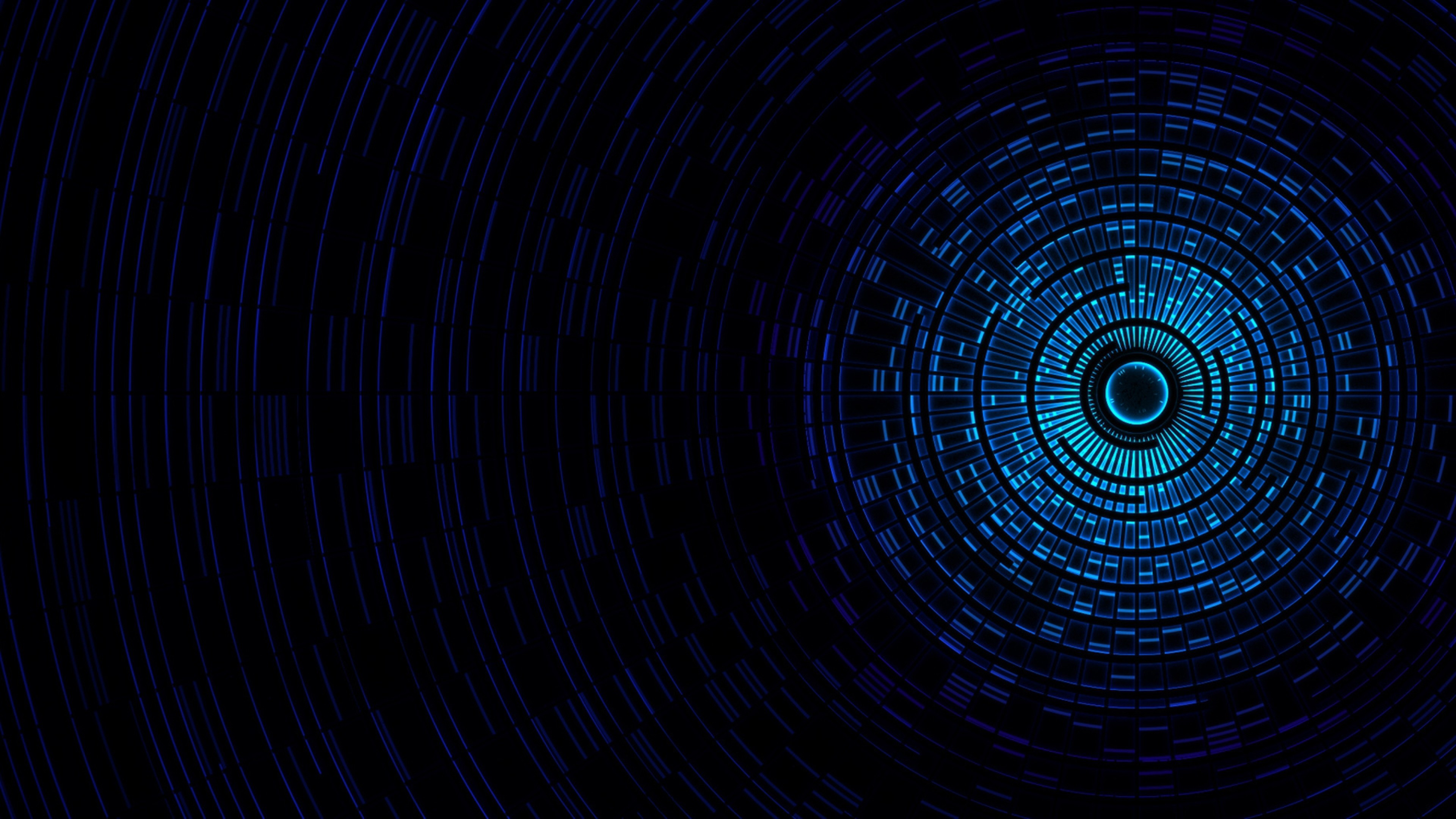 Blue Technology: Black And Blue Tech Wallpaper (64+ Images