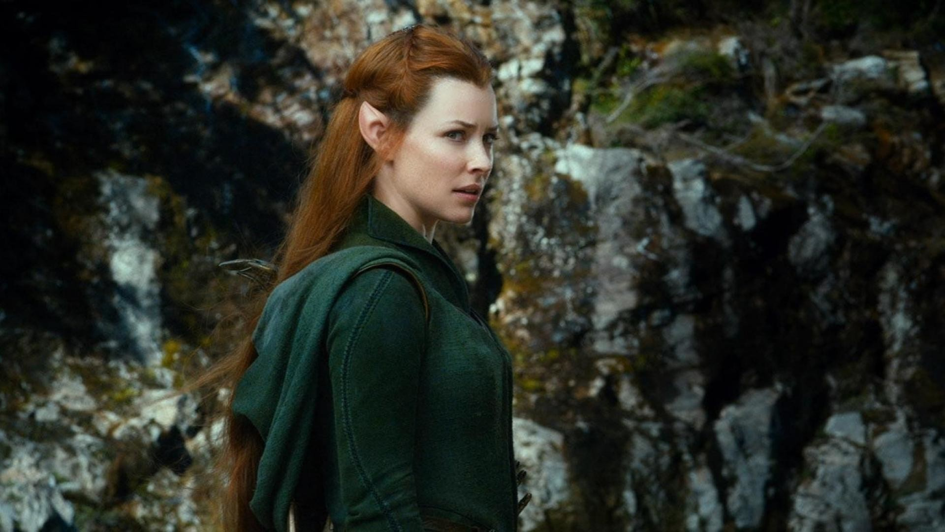 1920x1080 Tauriel and Legolas In The Hobbit 2 Wallpaper Free iPhone Wallpapers