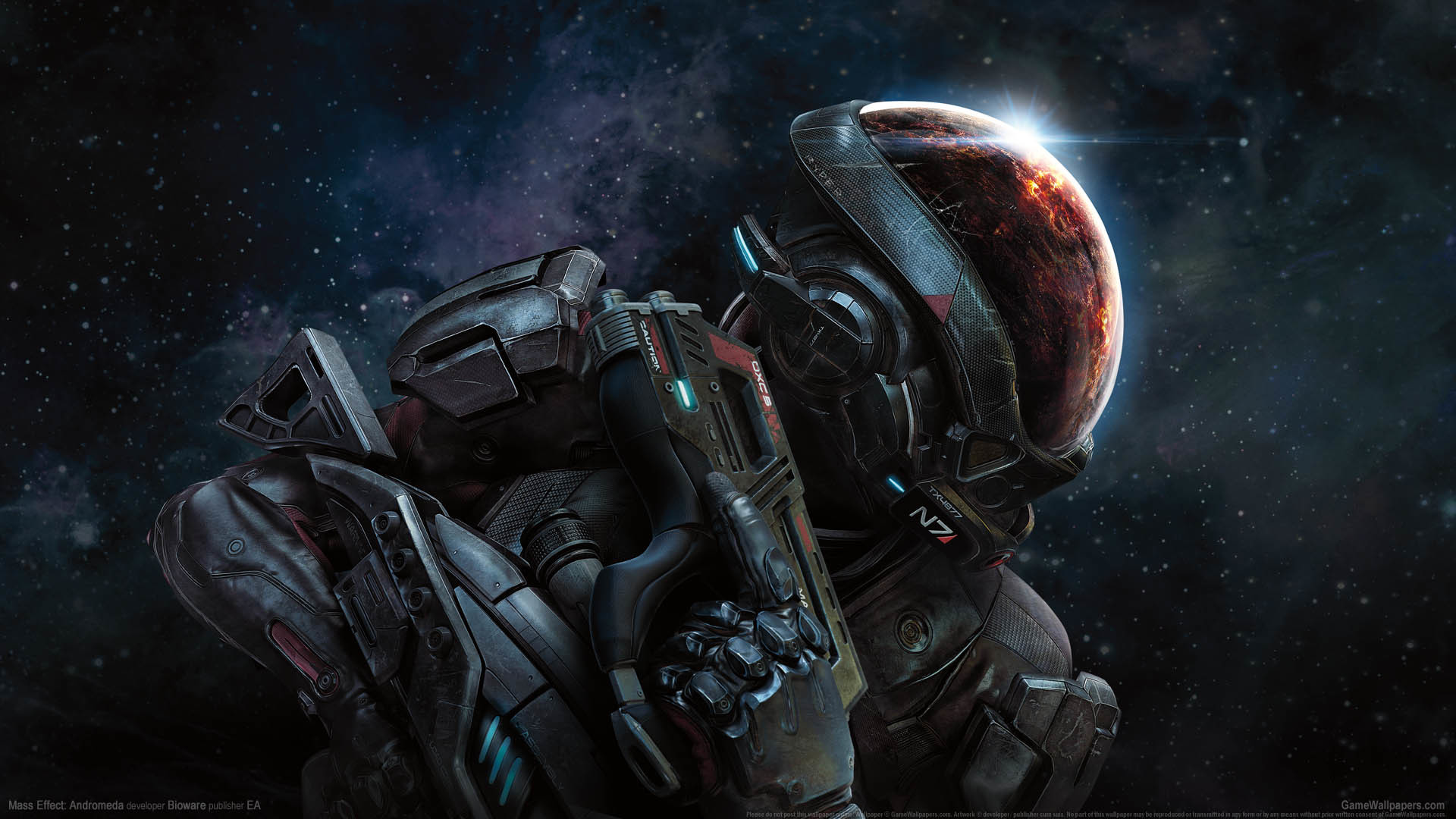 Mass Effect Andromeda Wallpapers: Mass Effect Space Wallpaper (74+ Images