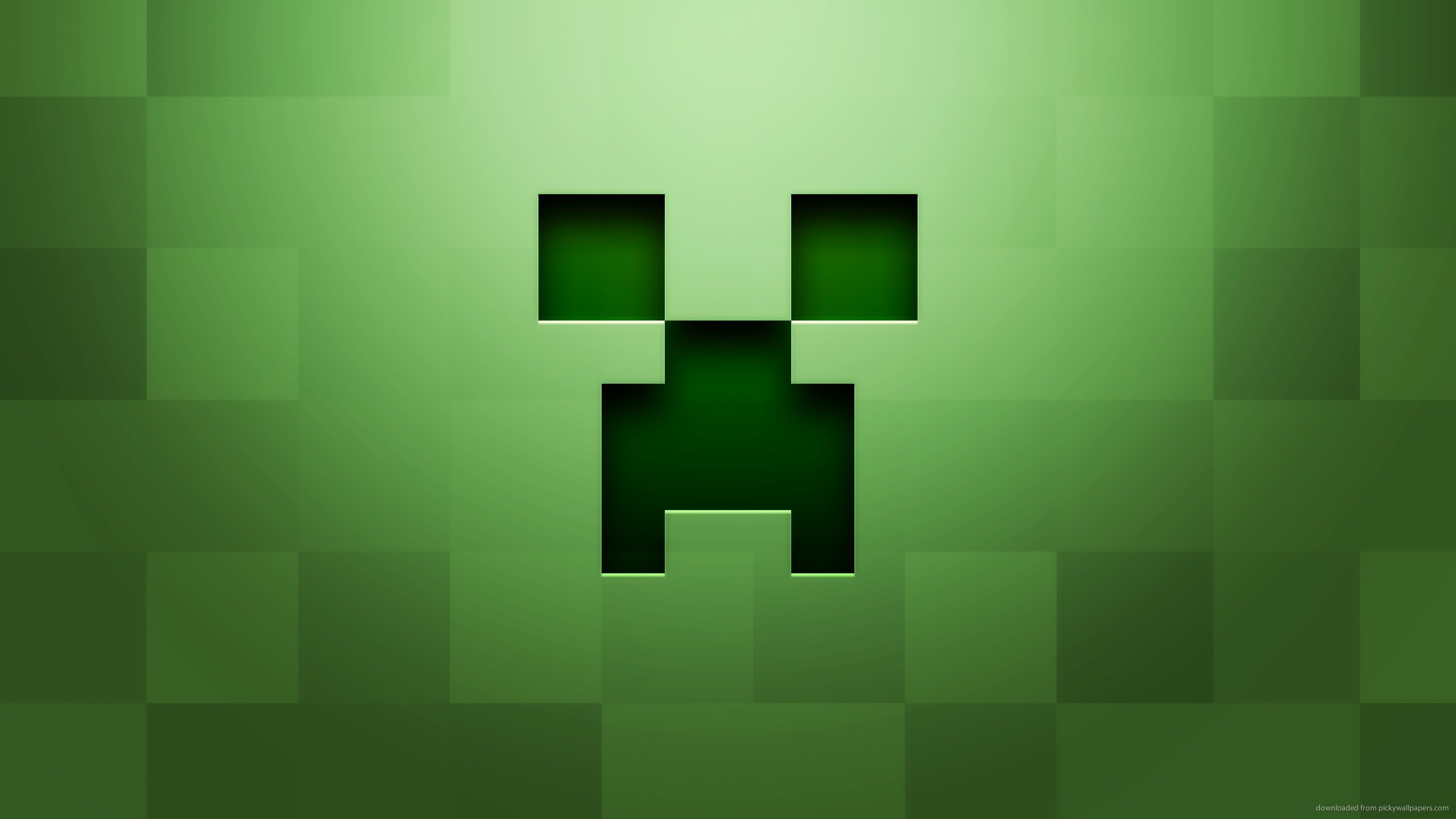 2560x1440 Minecraft Creeper for