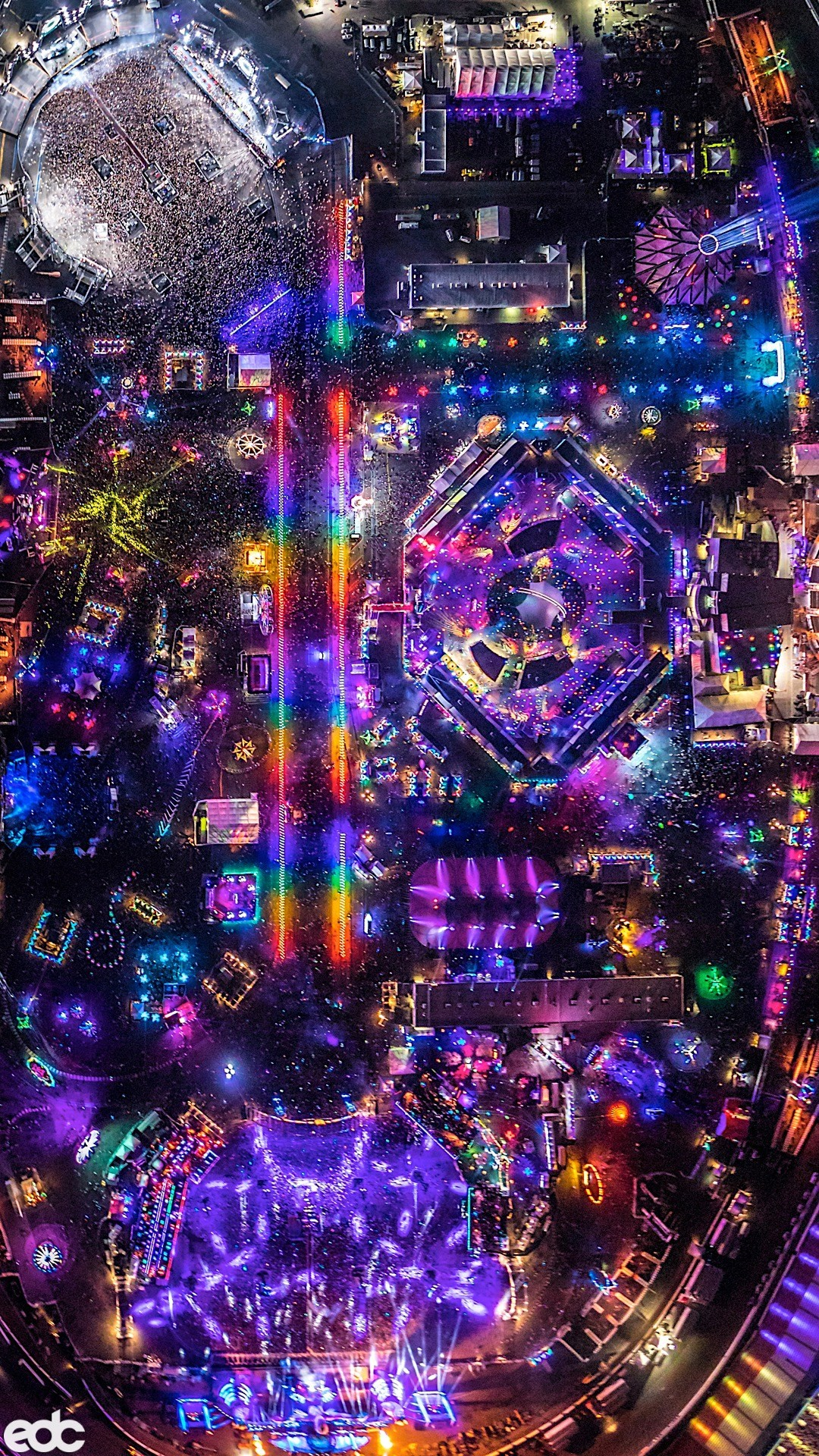 1080x1920 Download These Epic Edc Las Vegas Wallpapers For Your