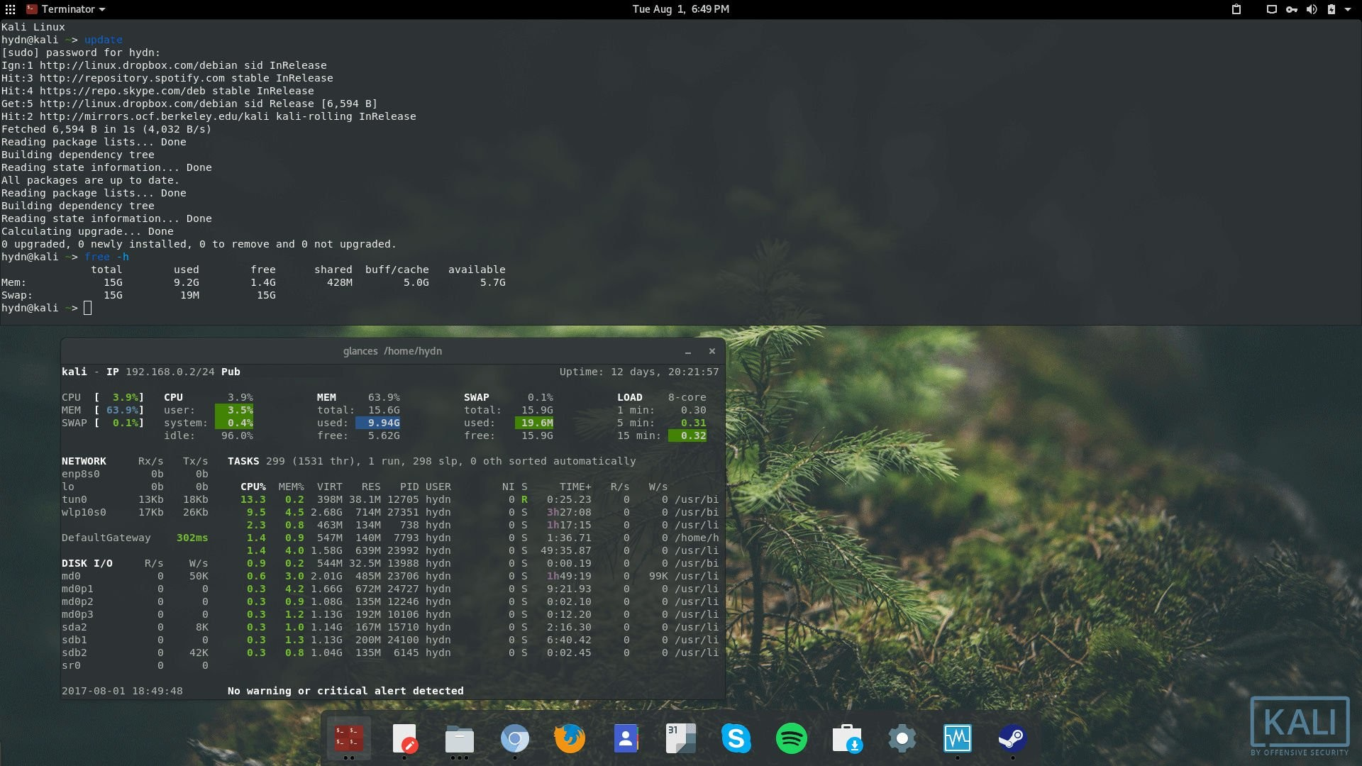 Kali Linux Wallpaper 1920x1080 (83+ images)