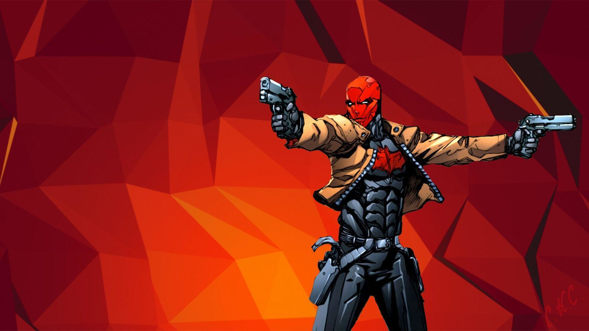1920x1080 Download Wallpaper Weapons, Guns, Jason Todd, Red Hood, Jason Todd .
