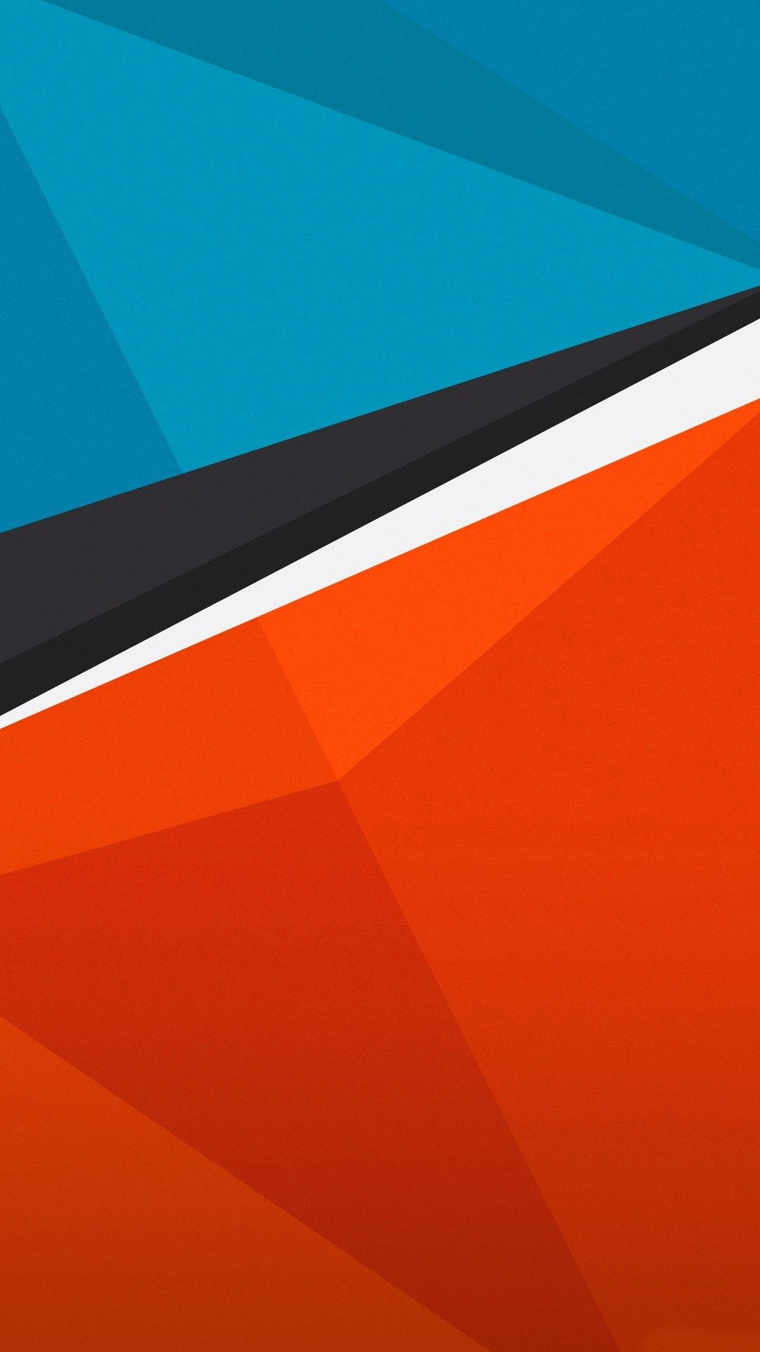 1080x1920 Wallpaper full hd 1080 x 1920 smartphone orange and light blue