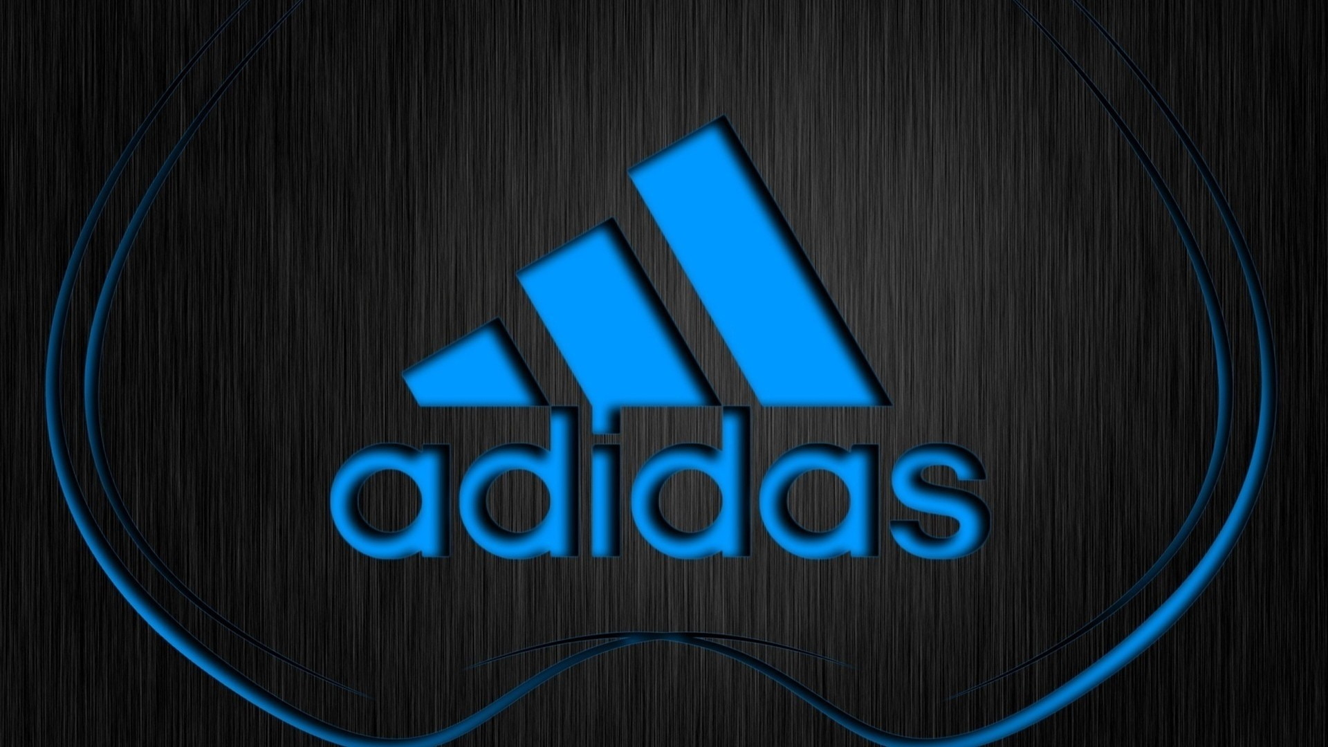 1920x1080 Wallpaper Adidas, Logo, Firm, Sports, Lettering