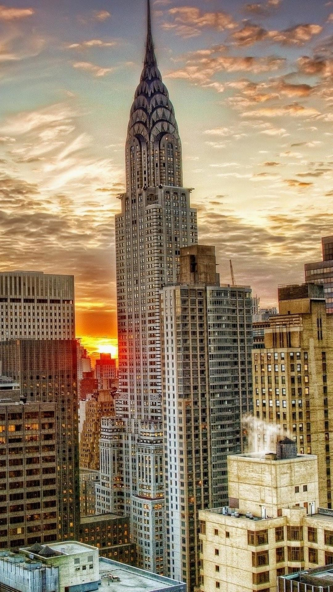 1080x1920 -new-york-skyscrapers-top-view-hdr-wallpaper-