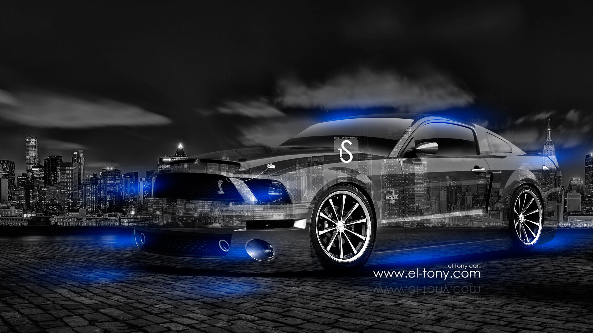 1920x1080 Muscle Car Background Free Download