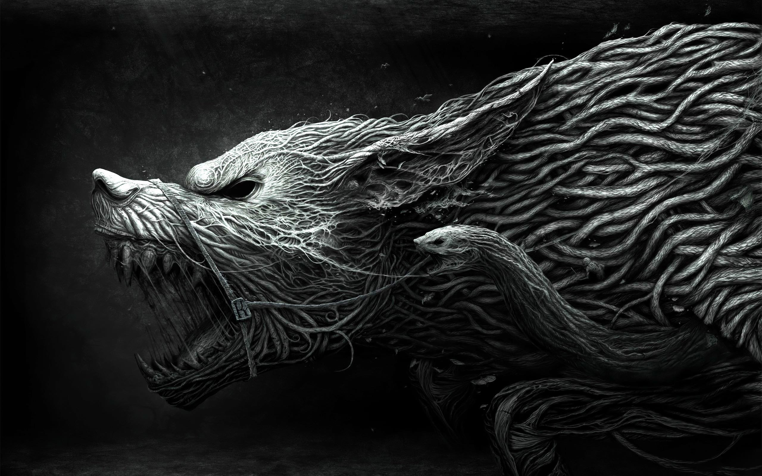 2560x1600 dark werewolf Wallpaper Backgrounds