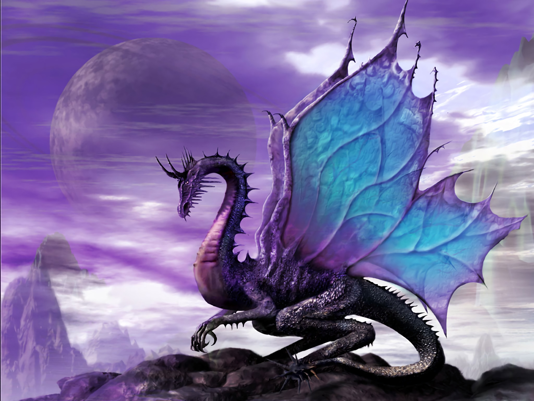 2048x1536 HD Wallpaper | Background Image ID:14065.  Fantasy Dragon