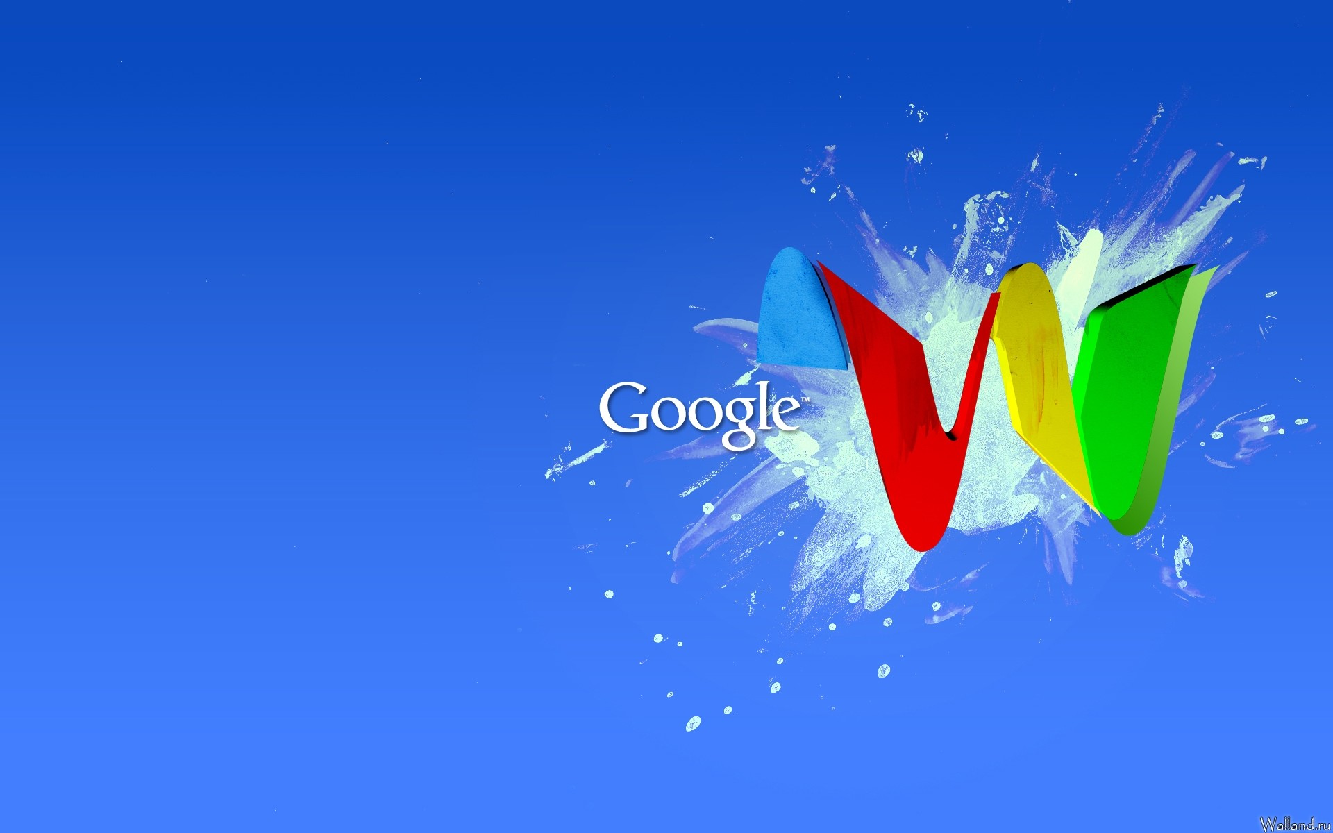 1920x1200  Wallpaper google, blue, red, yellow, green