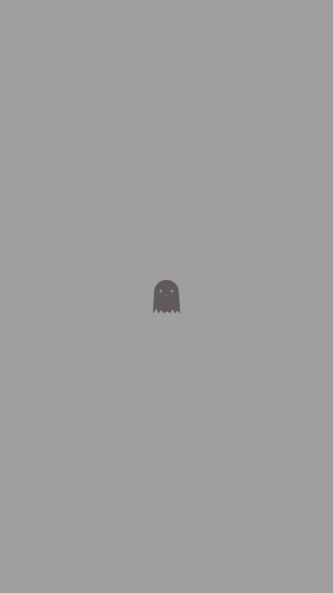 1080x1920 Cute Ghost Art Character Illust Minimal Simple #iPhone #6 #plus #wallpaper