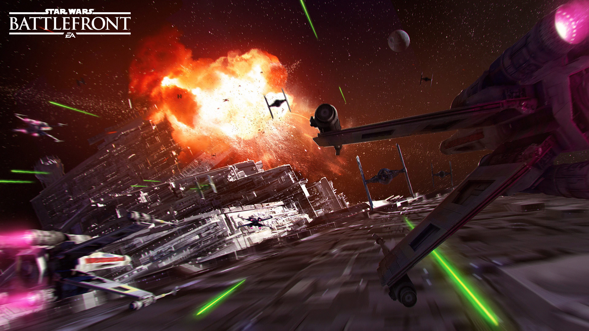 Star Wars Space Battle Wallpaper 61 Images