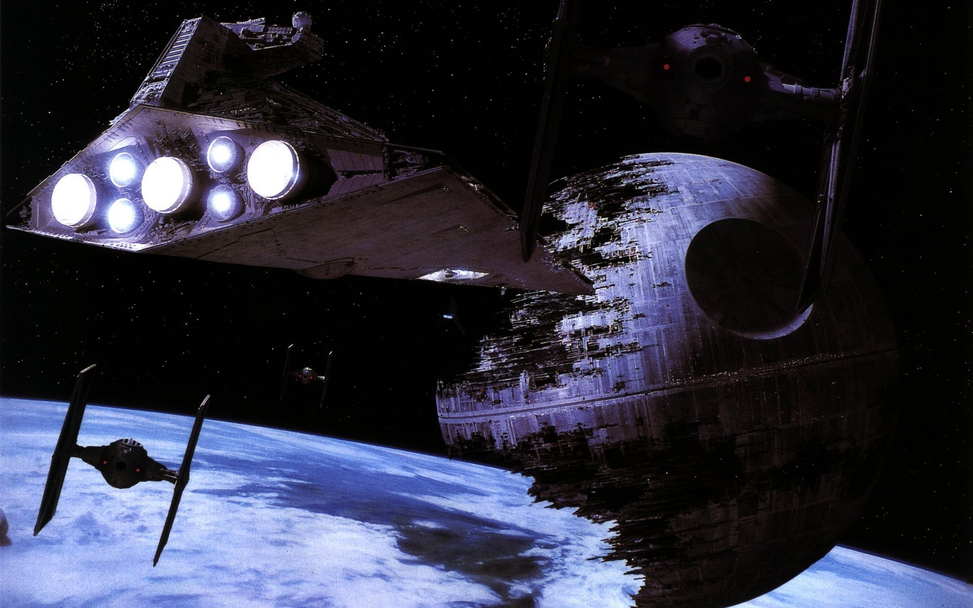 1920x1200 Star Wars, Star Destroyer, TIE Fighter, Movies Wallpapers HD / Desktop and  Mobile Backgrounds