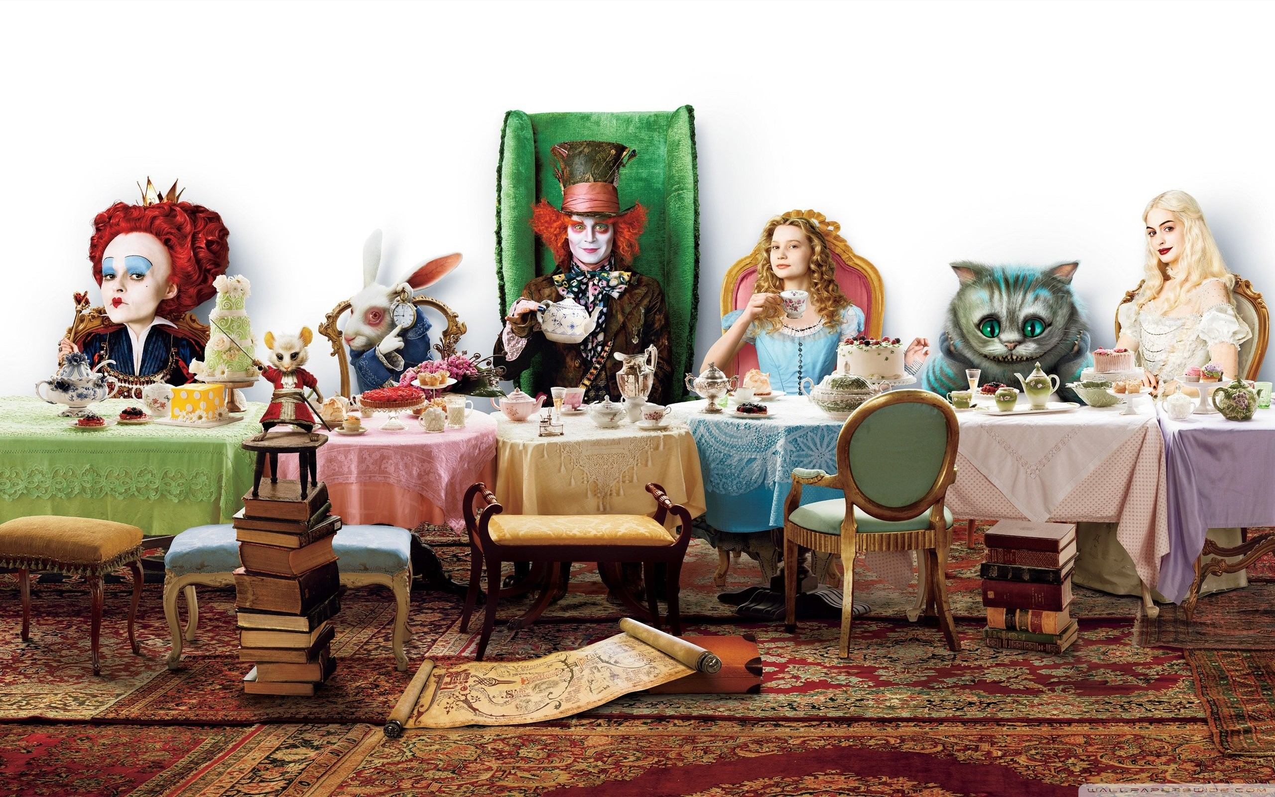 2560x1600 ... alice in wonderland hd desktop wallpaper widescreen high ...