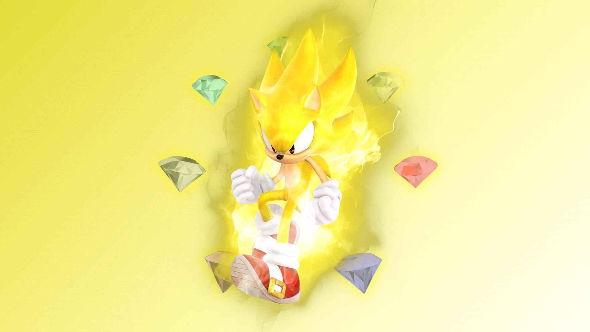 1920x1080 Super Sonic Wallpapers