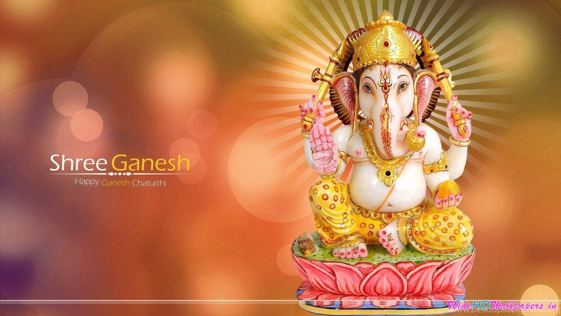 Ganpati Hd Wallpapers 1920x1080: Ganesh Background (50+ Images