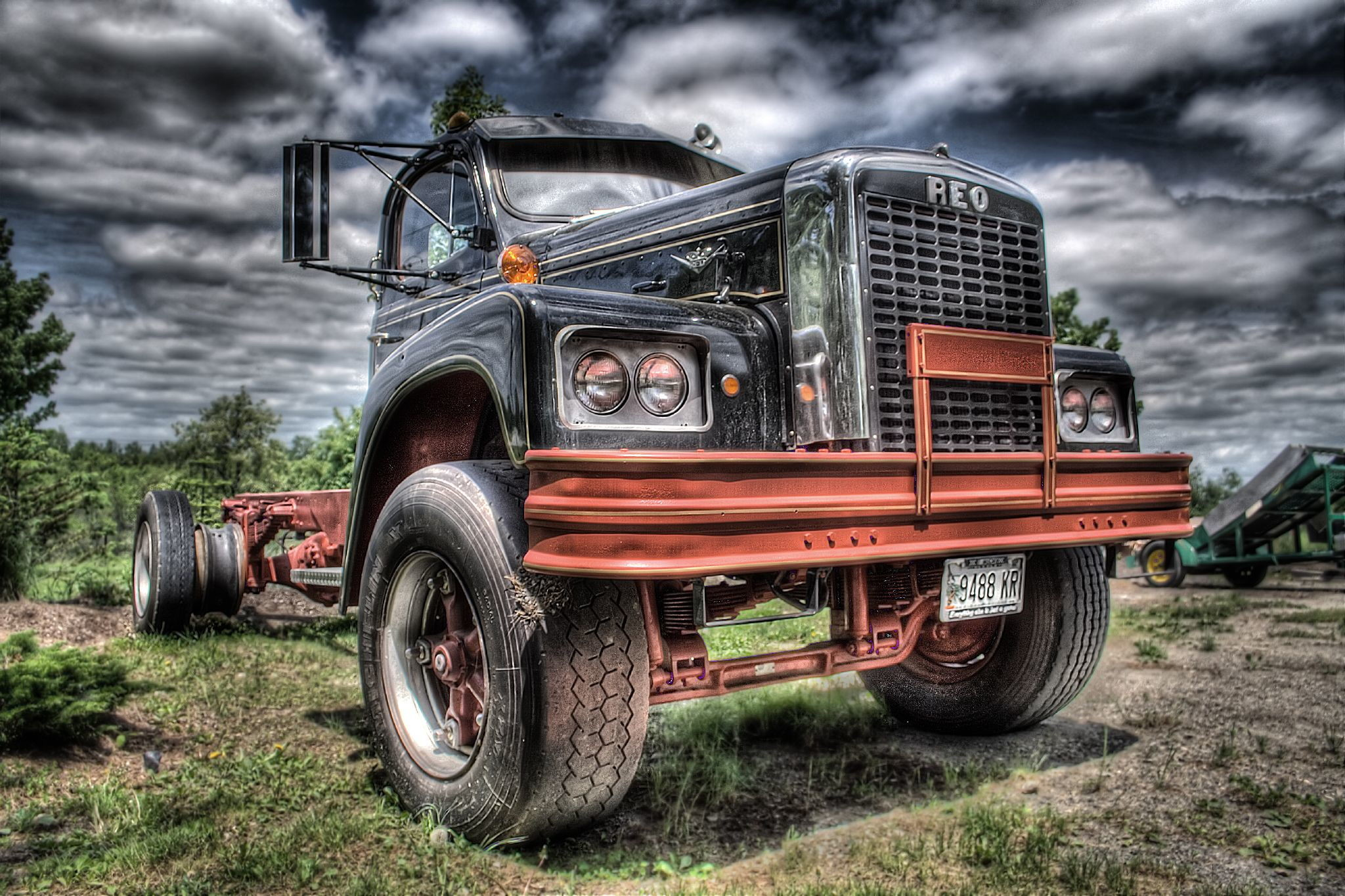 Old trucking company photos