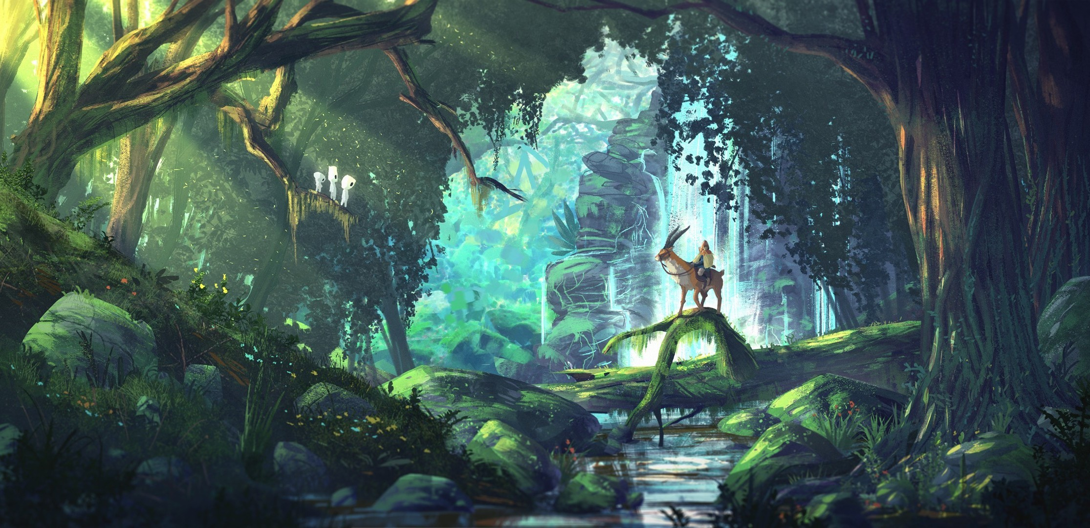 Anime Inspired Hd Fantasy Wallpapers For Your Collection: Studio Ghibli Wallpapers (71+ Images