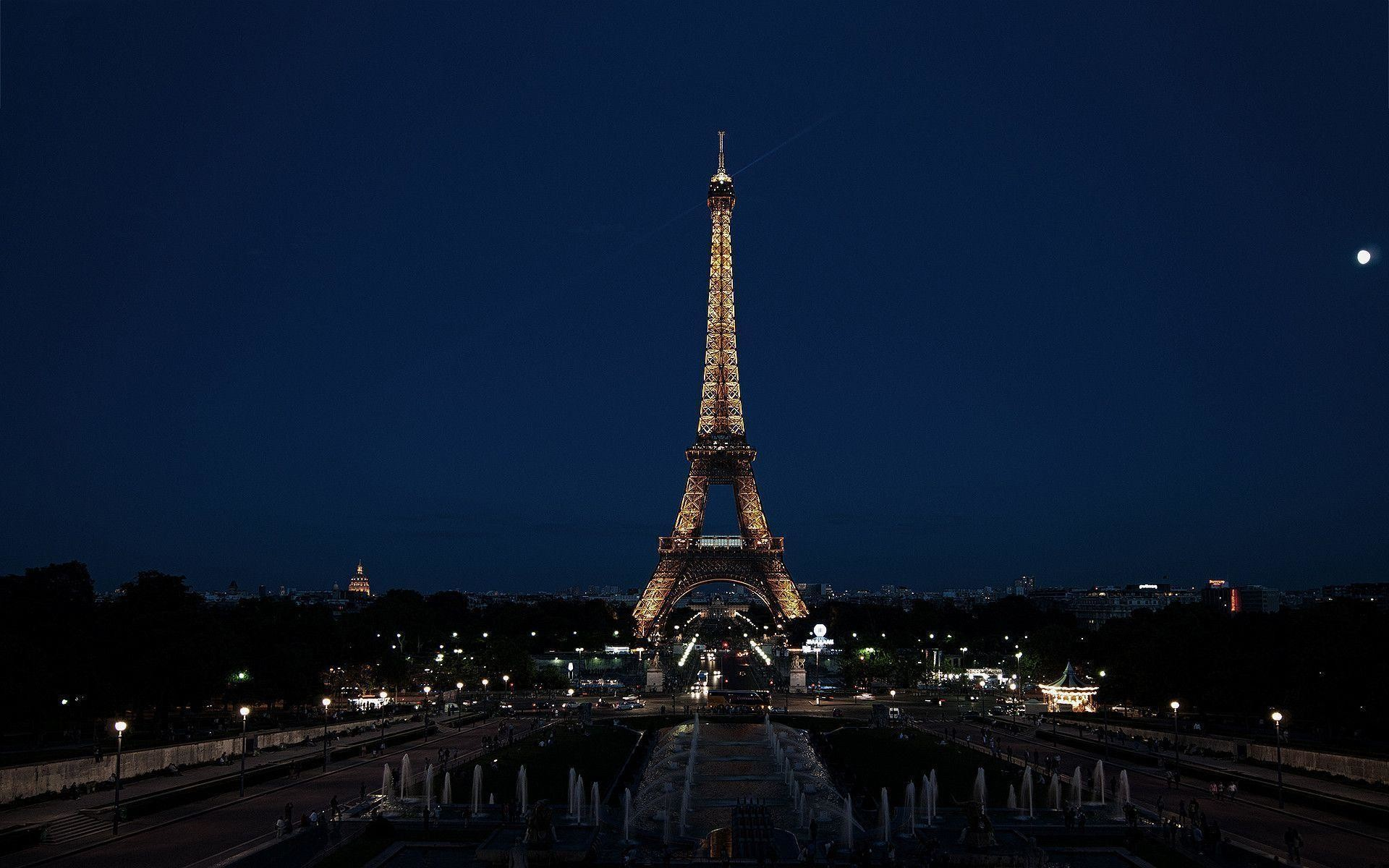 Eiffel Tower At Night Wallpaper 62 Images