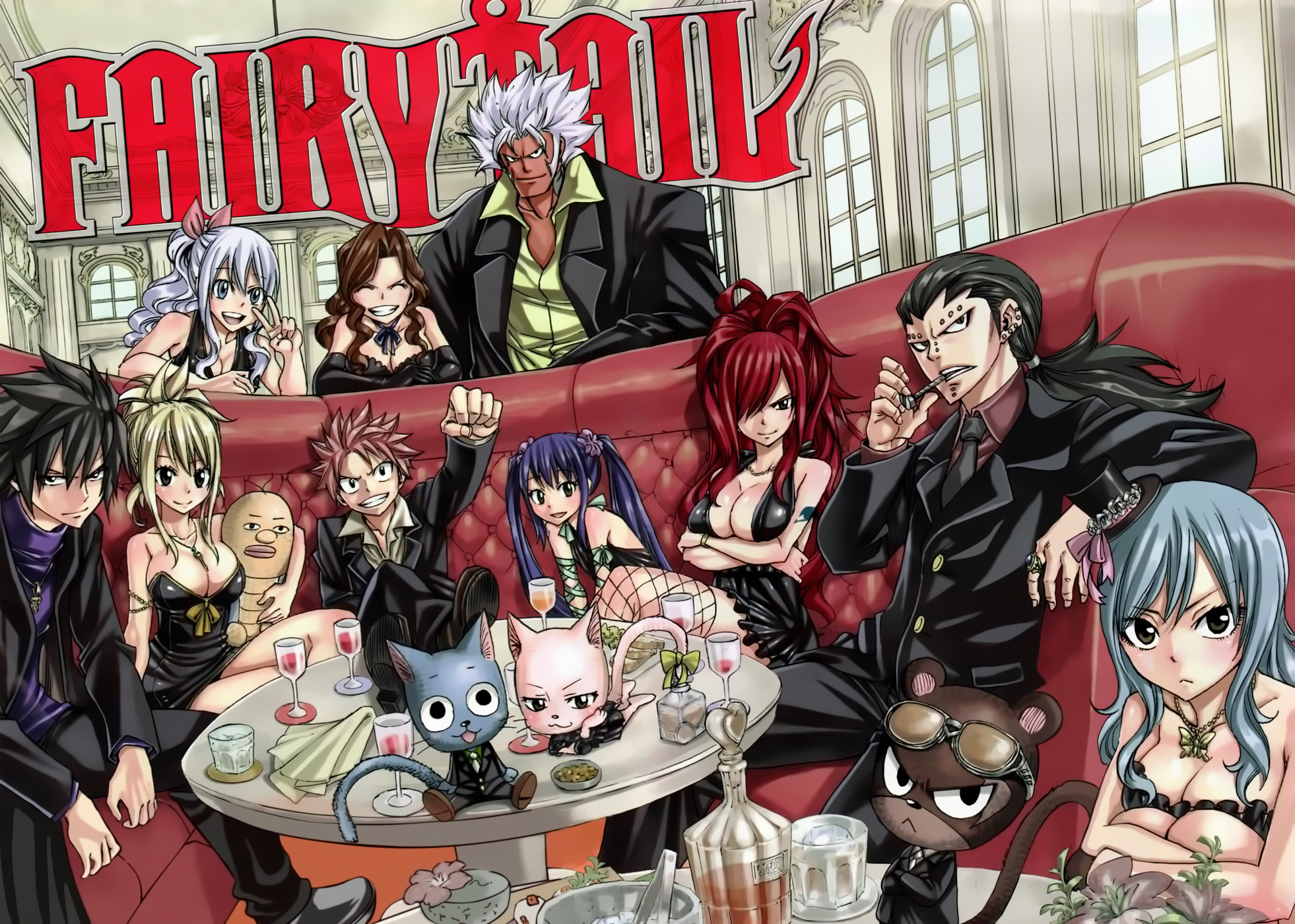 1962x1400 Fairy Tail Mafia