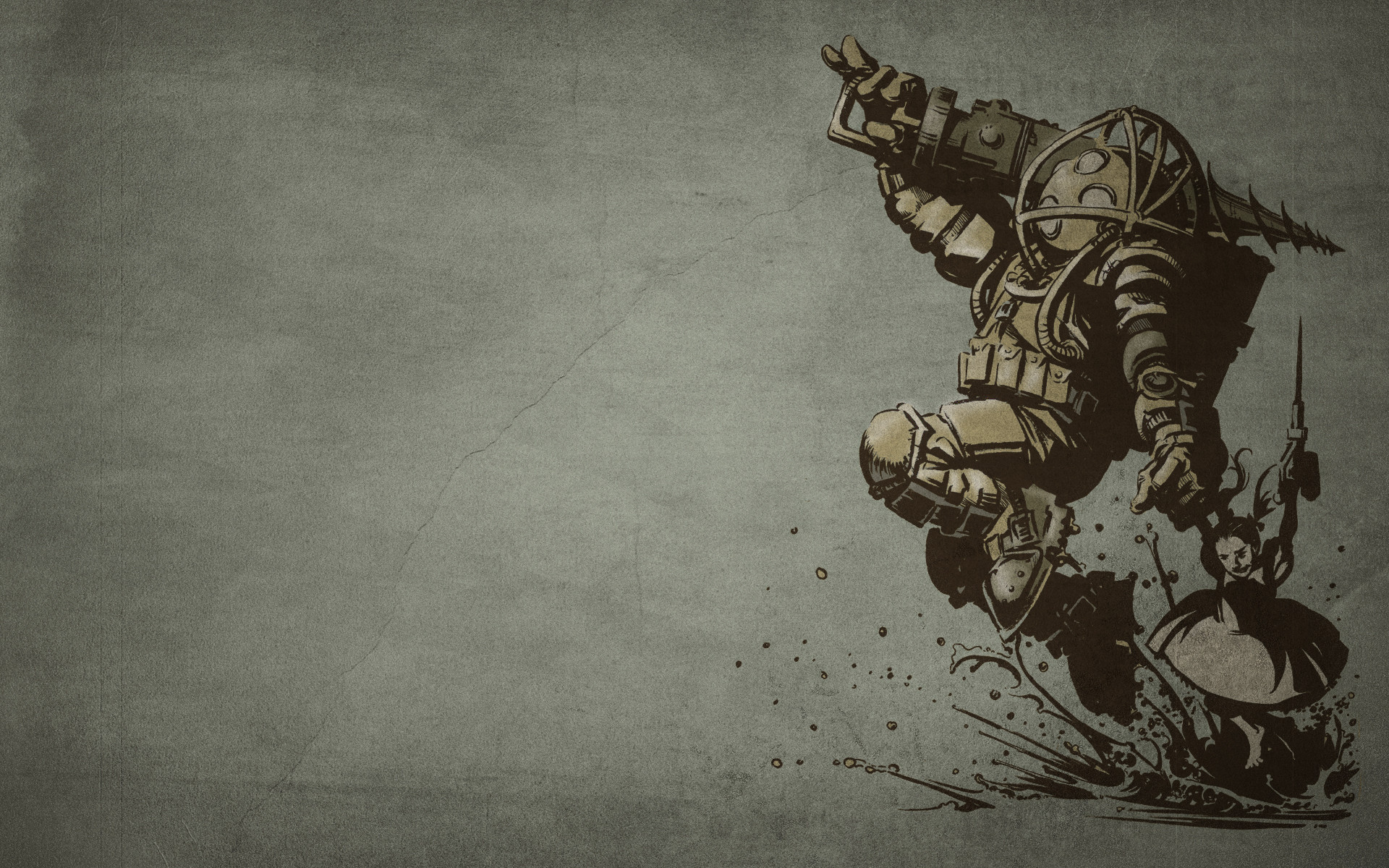 1920x1200 Bioshock Wallpaper