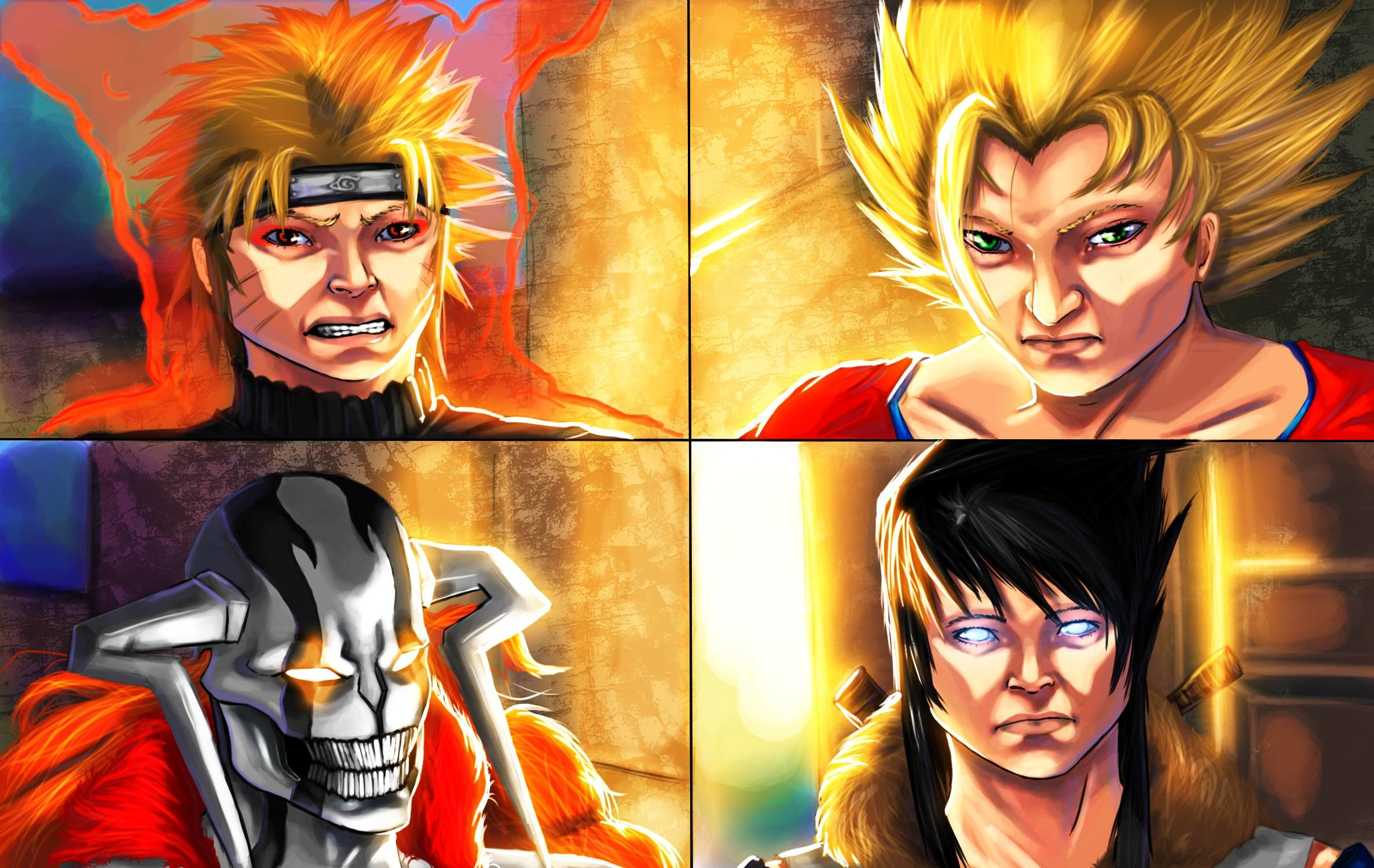 Naruto And Goku Wallpaper 74 Images