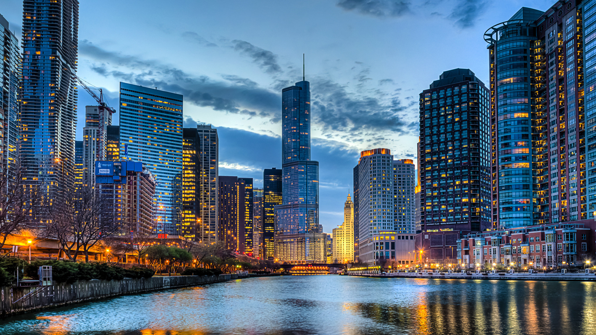 2048x1152 HD Wallpaper | Background ID:412030.  Man Made Chicago