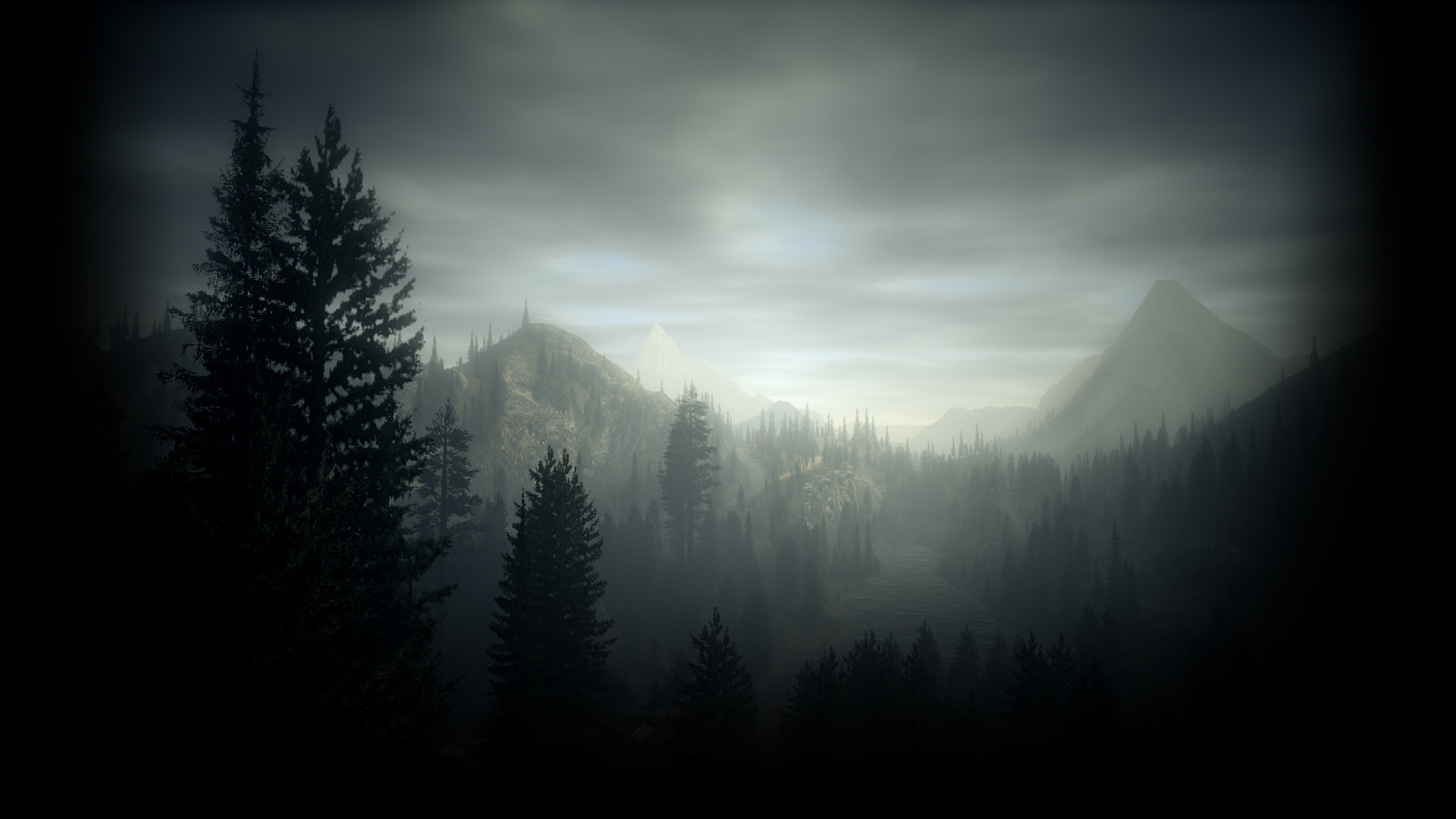 1920x1080 Alan Wake Uncommon Profile Background. View Full Size