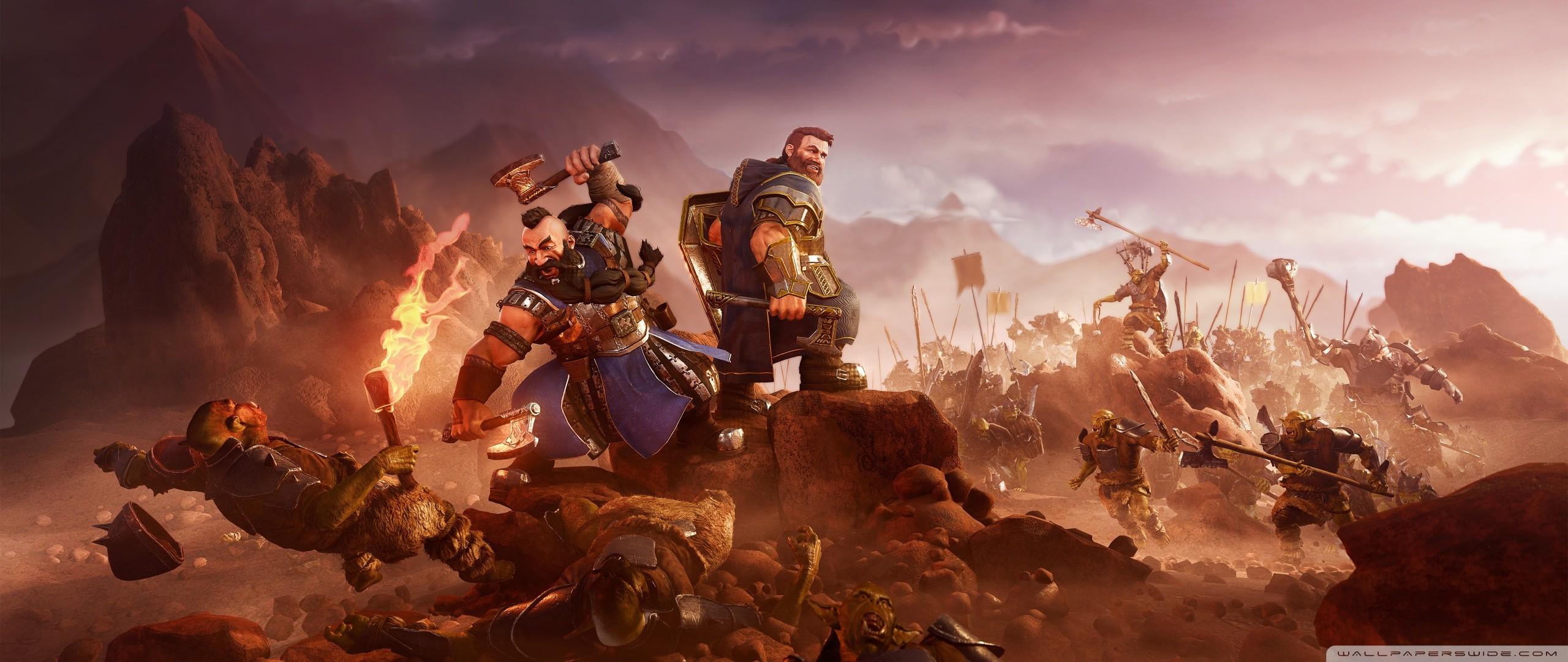 Warhammer Total War 2 Wallpaper 2560 X 1440 Dark Elves: Orks Wallpaper (57+ Images