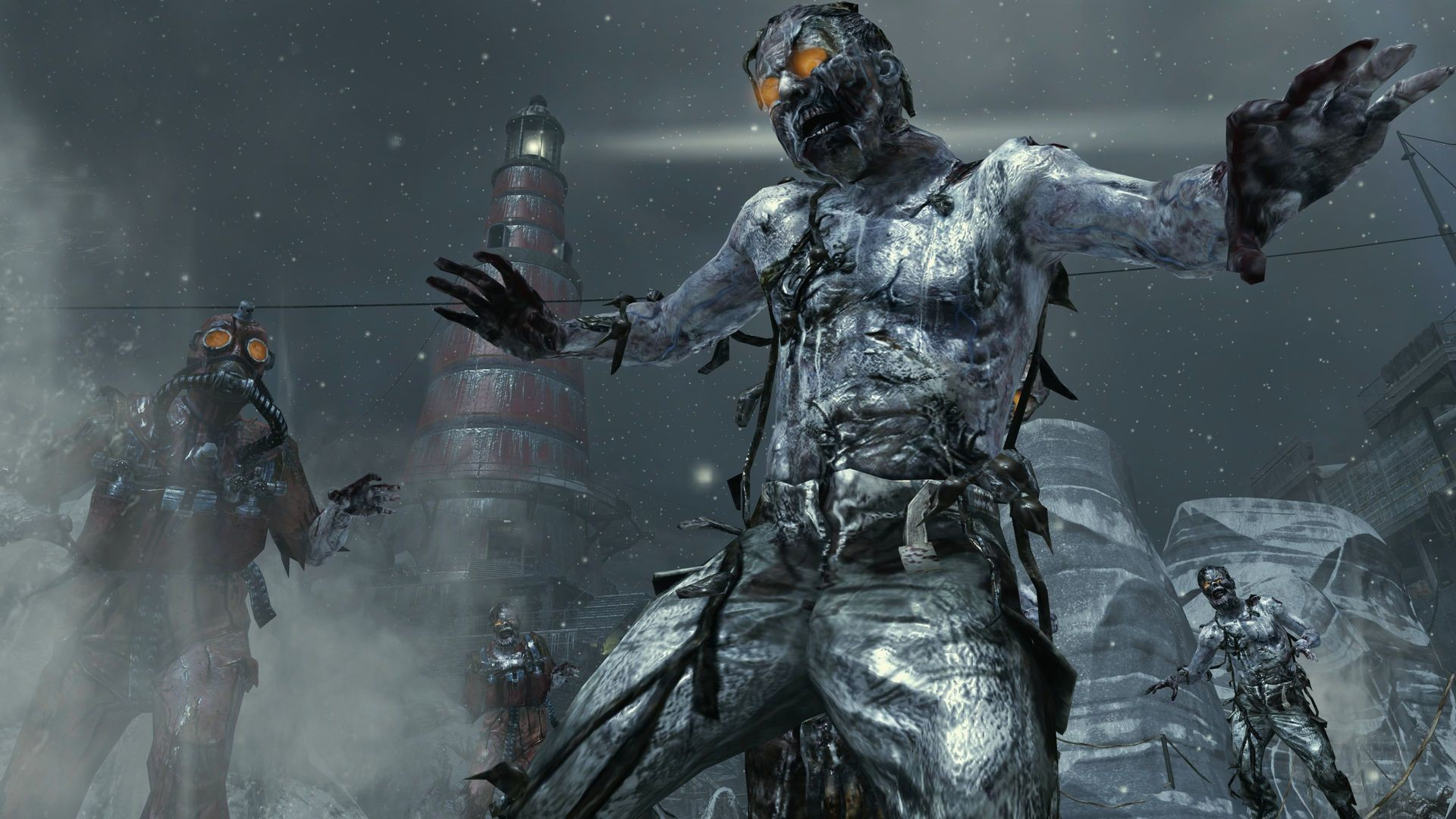 1920x1080 Black Ops 2 Zombies Background HD Wallpaper