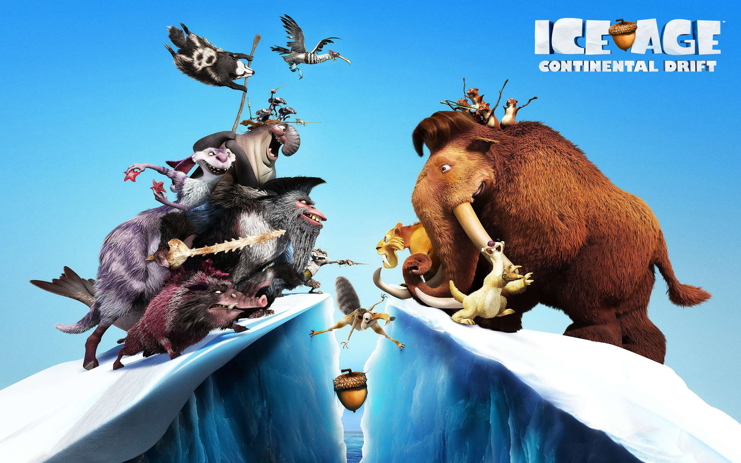 2560x1600 Ice Age 4 Continental Drift